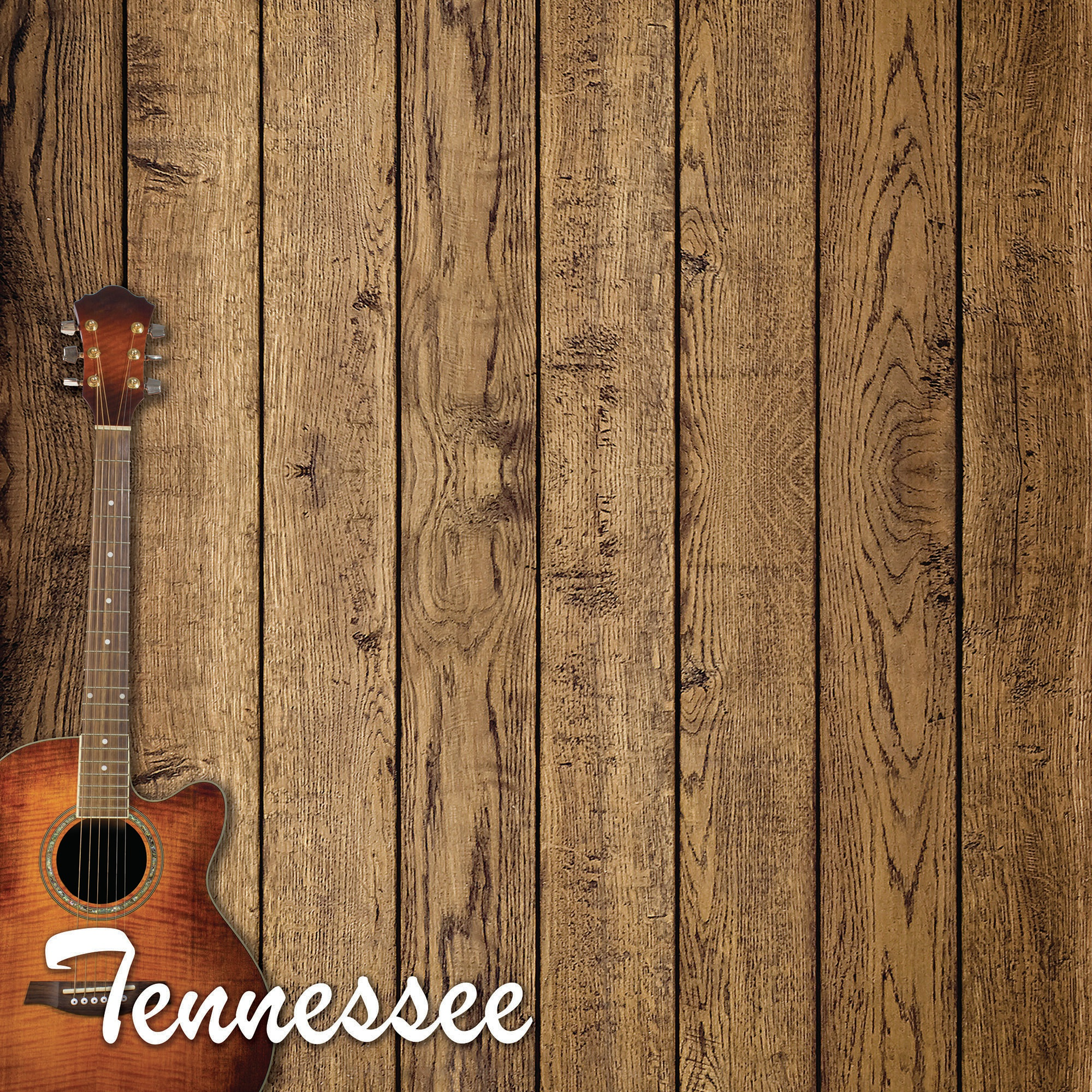 Tennessee Double-Sided Cardstock 12X12-Great Smoky Mountains