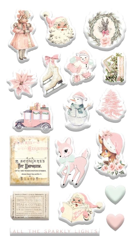 Sugar Cookie By Frank Garcia Puffy Stickers 18/Pkg-