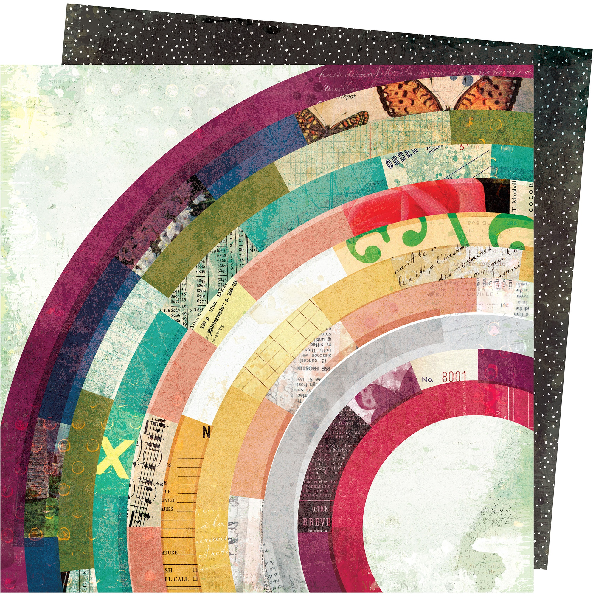 Click for more designs Vicki Boutin Storyteller Double-Sided Cardstock 12X12-Sequence