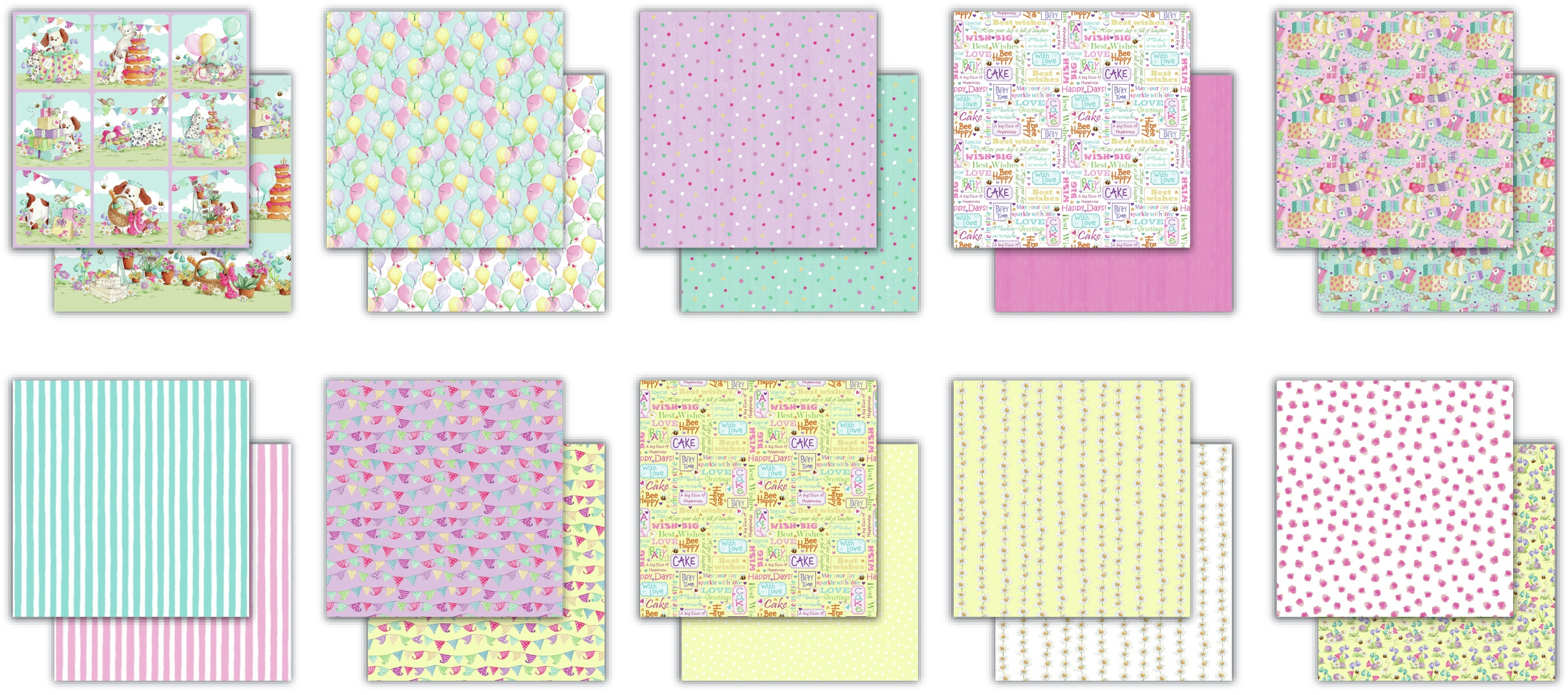 Craft Consortium Double-Sided Paper Pad 6X6 40/Pkg-The Gift Of Giving
