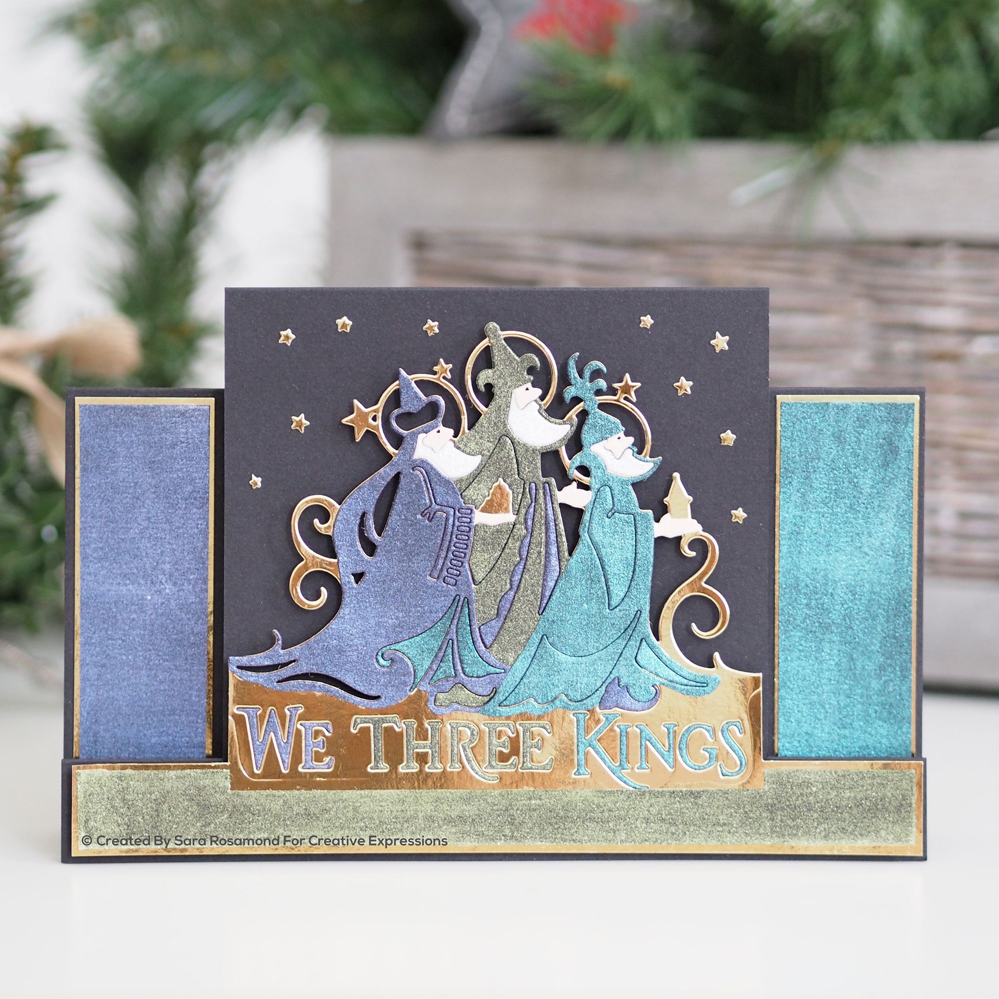 Creative Expressions Paper Cuts Edger Craft Dies-We Three Kings