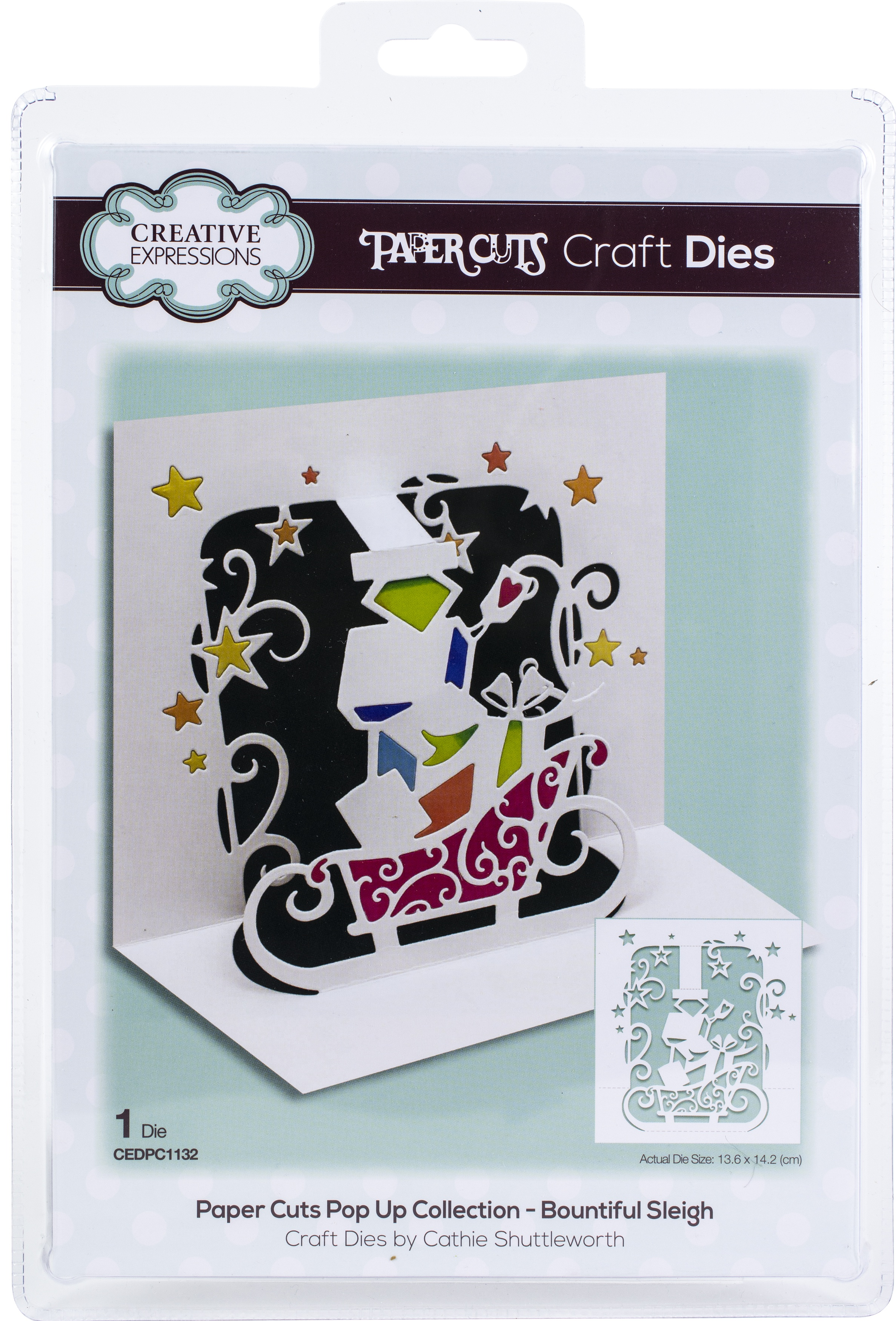 Creative Expressions Pop-Up Craft Die - Santa Express