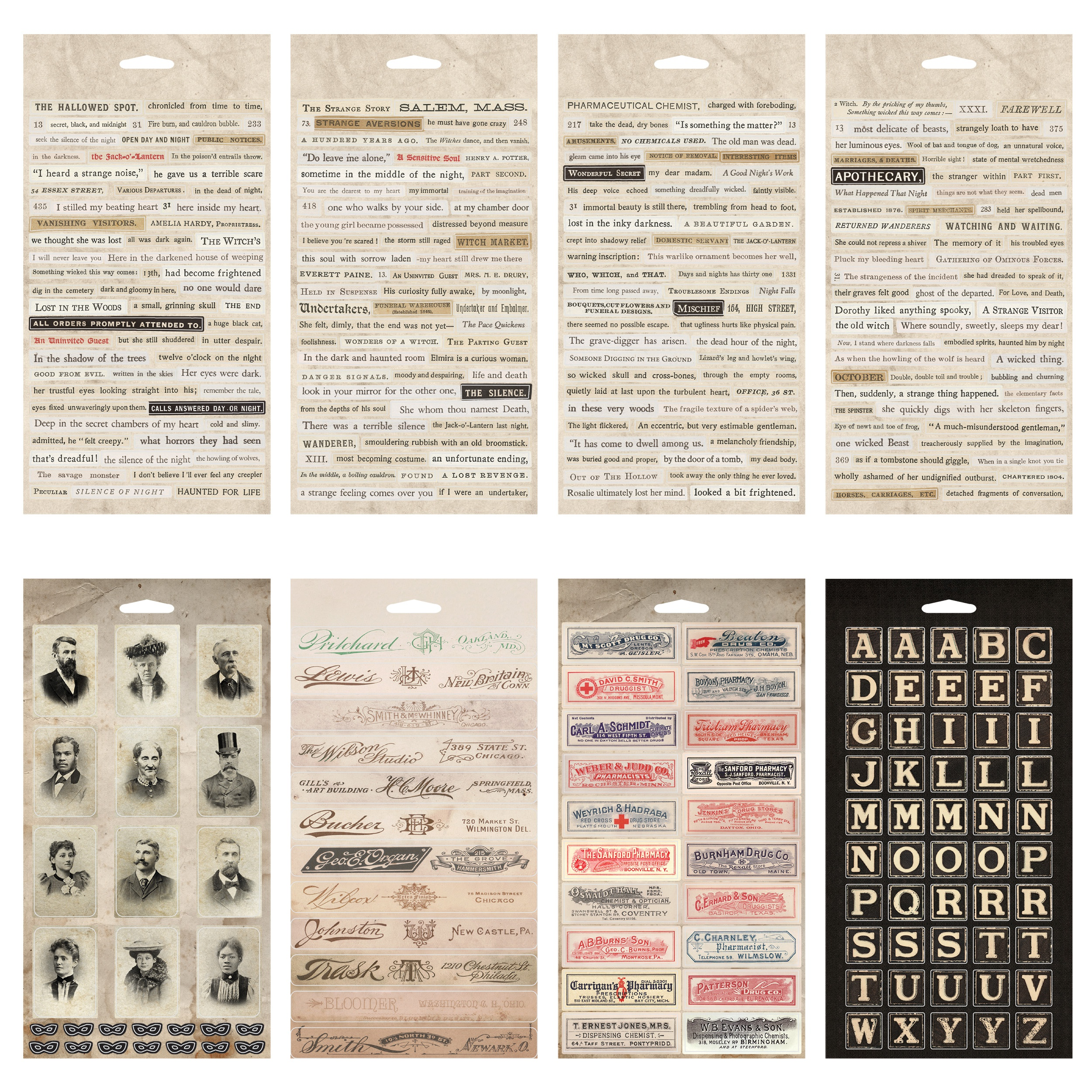 Idea-Ology Sticker Book 357/Pkg-Curiosities