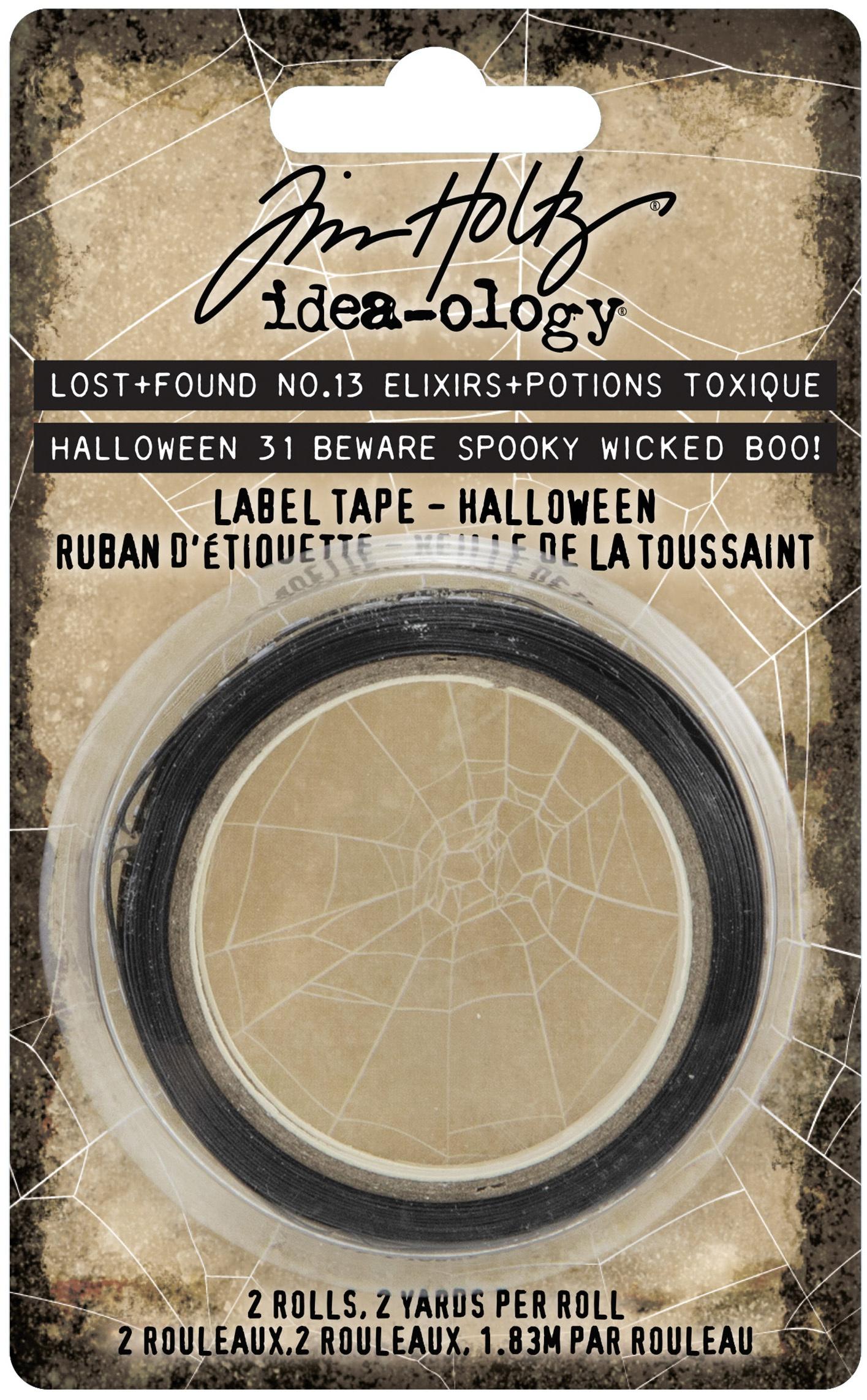 Idea-Ology Label Tape 2/Pkg-Halloween