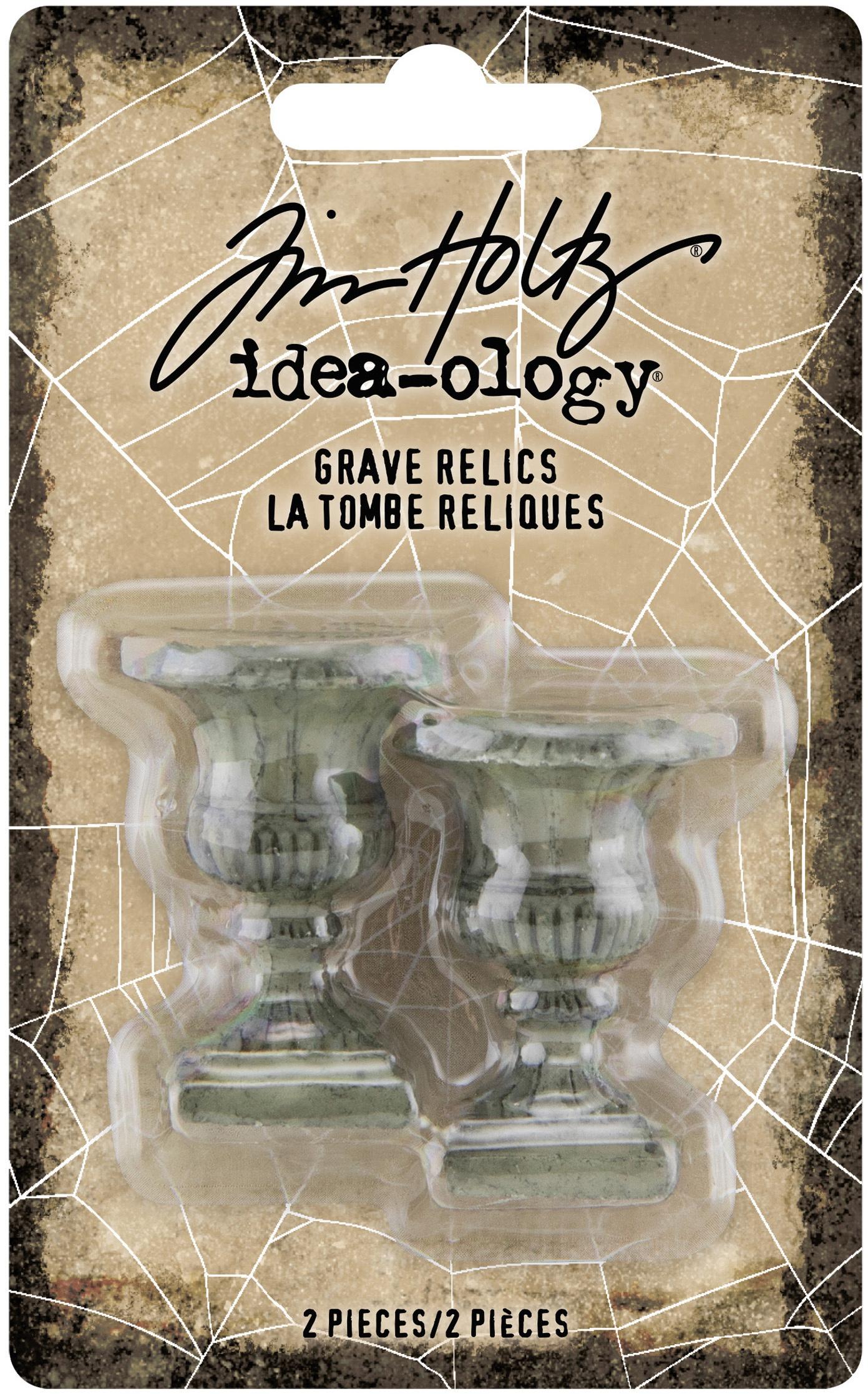 Idea-Ology Resin Grave Relics 2/Pkg-