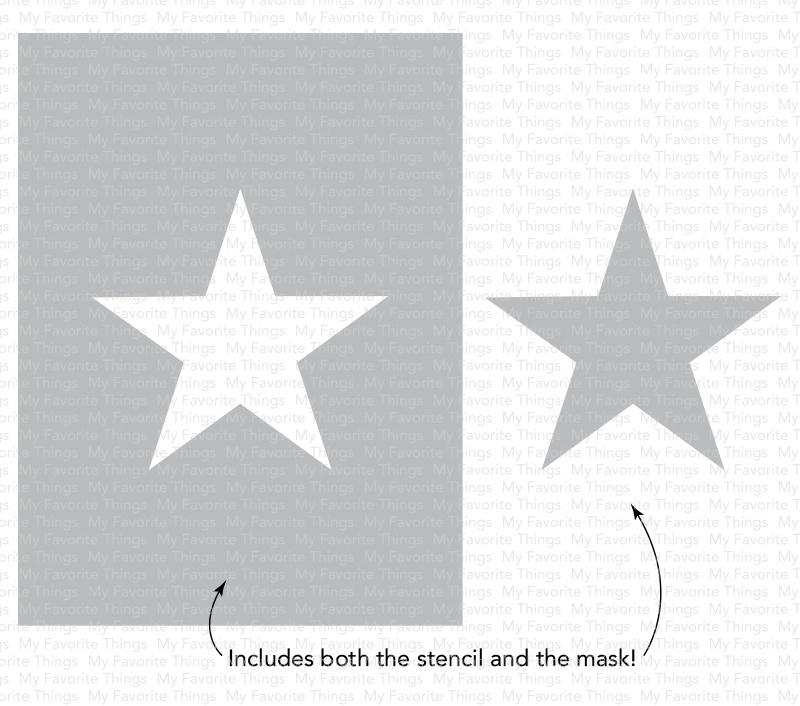 Stencil - Star Extraordinaire