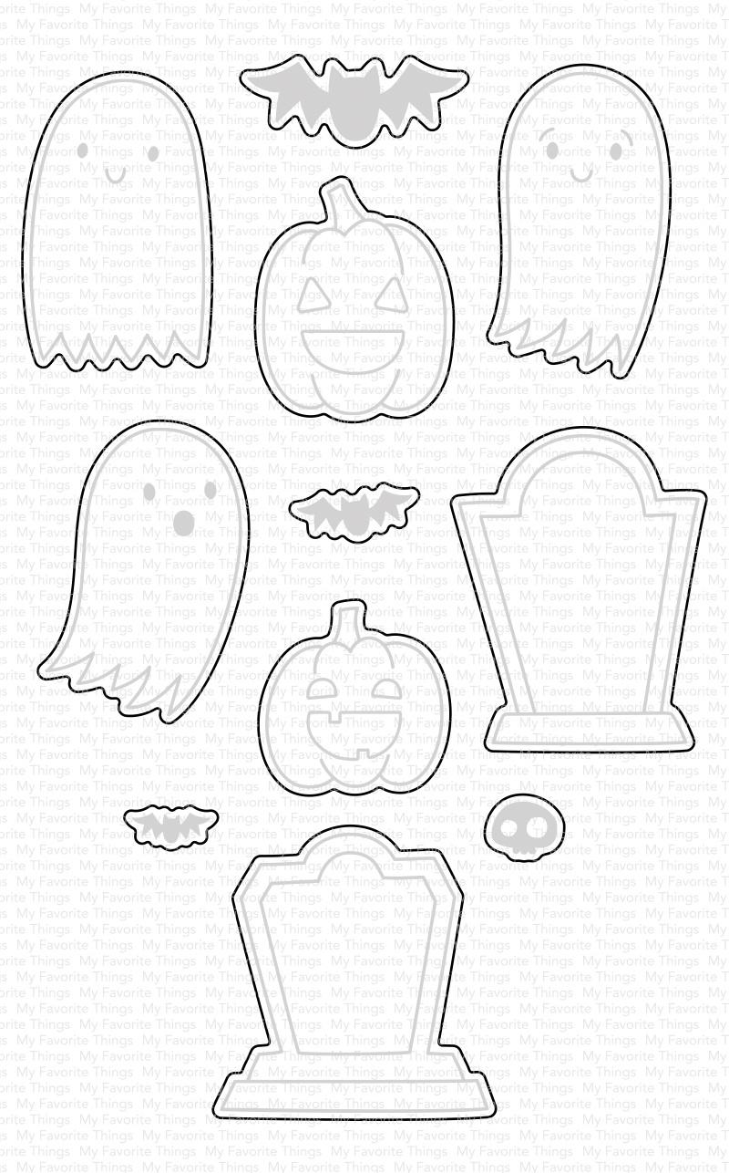 My Favorite Things Die-namics Die-Ghostly Greetings