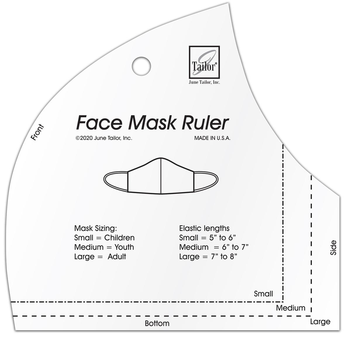 June Tailor Face Mask Ruler