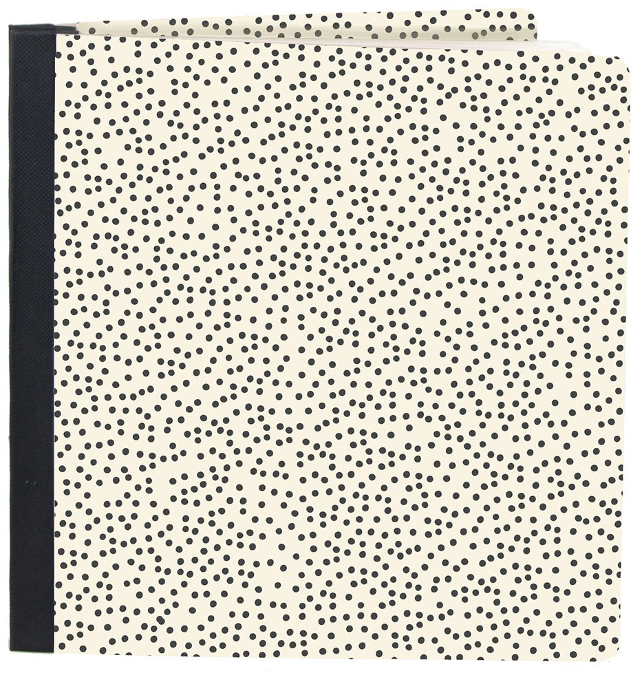 Simple Stories Sn@p! Flipbook 6X8-Speckle Dots
