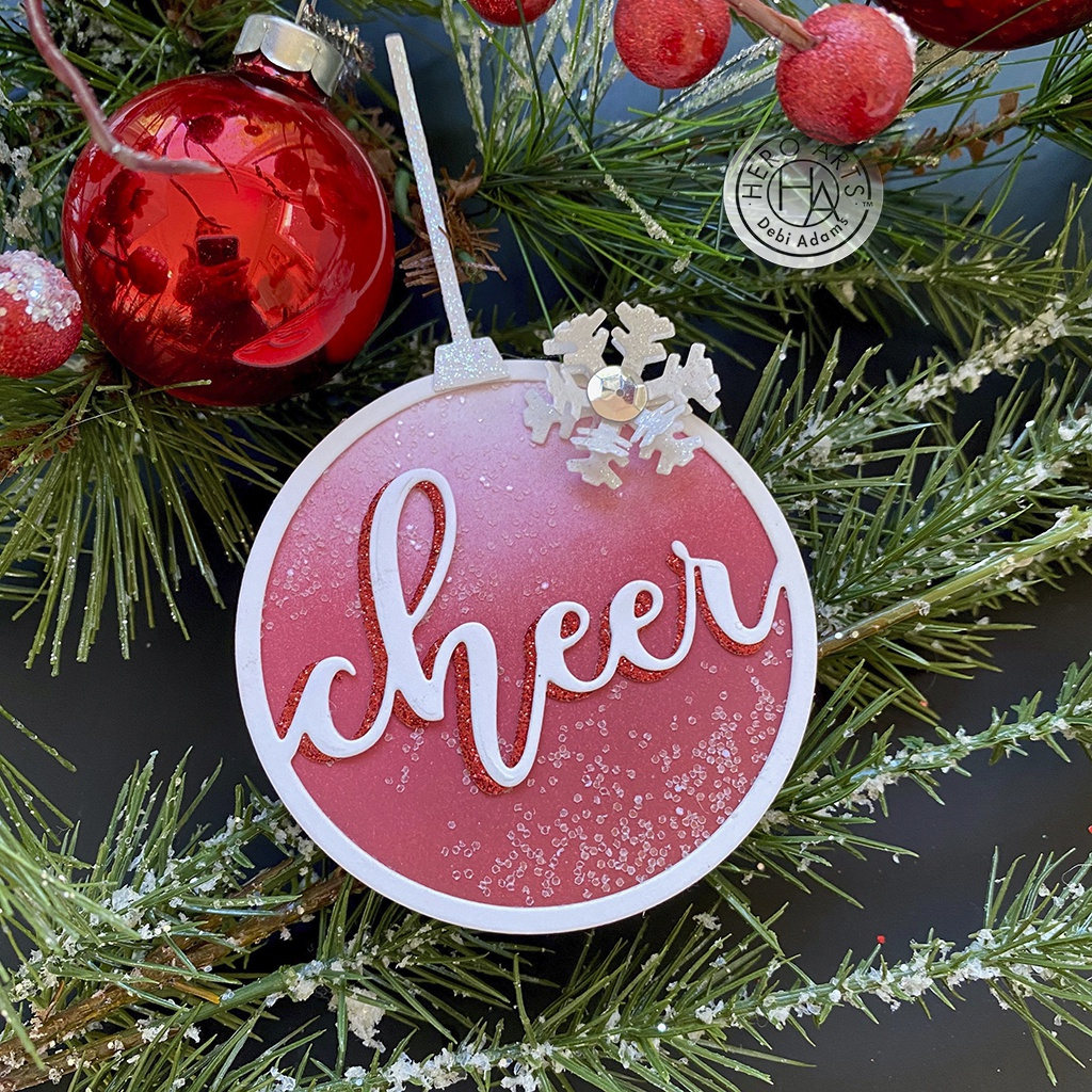 Hero Arts Fancy Dies-Cheer Ornament