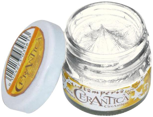 Stamperia Ancient Wax 20ml-White