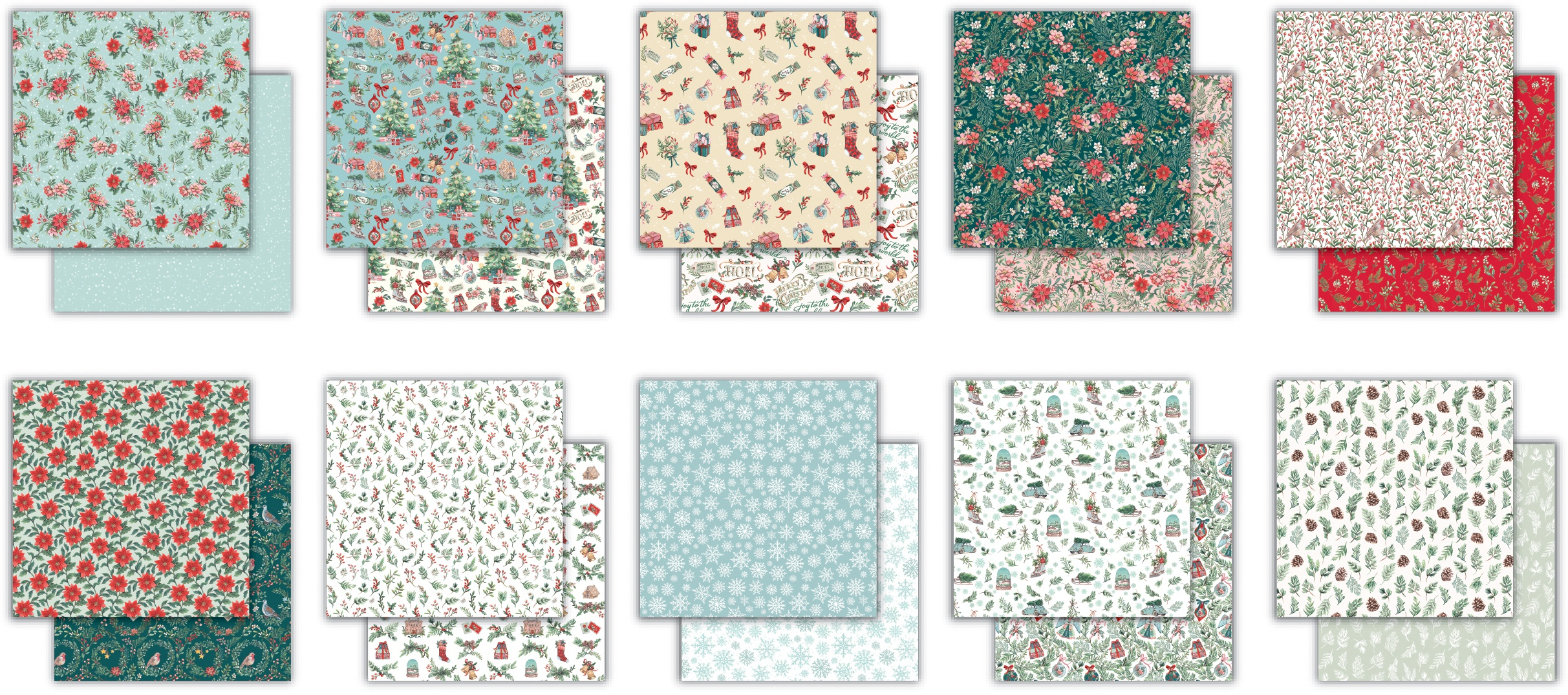 Craft Consortium Double-Sided Paper Pad 6X6 40/Pkg-Noel