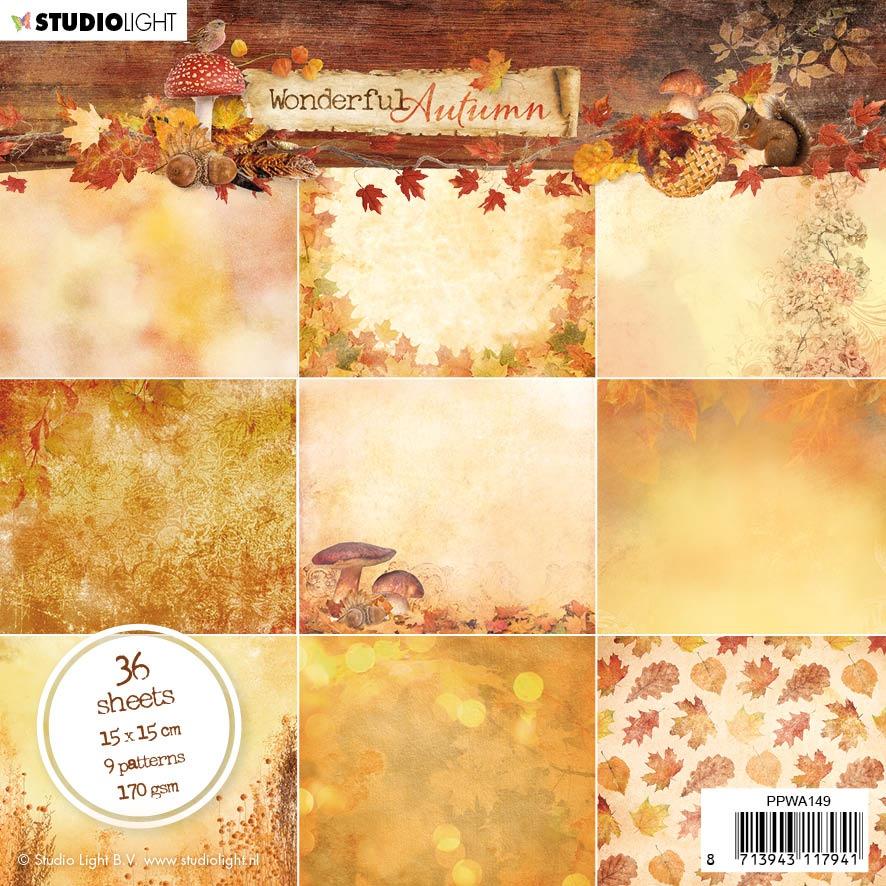 Wonderful Autumn NR. 149 Paper Pad 6X6