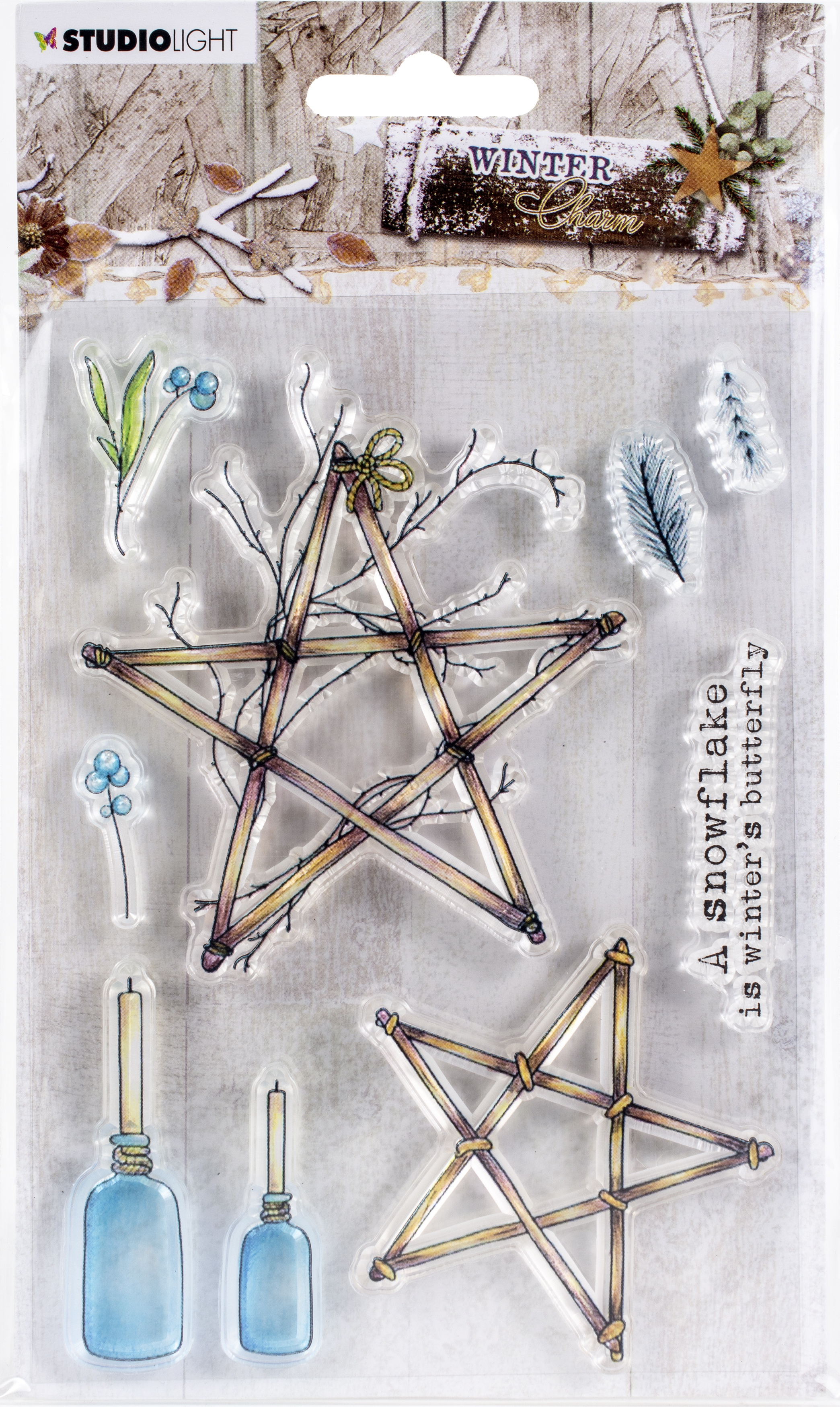 Studio Light Winter Charm Clear Stamps-NR. 491