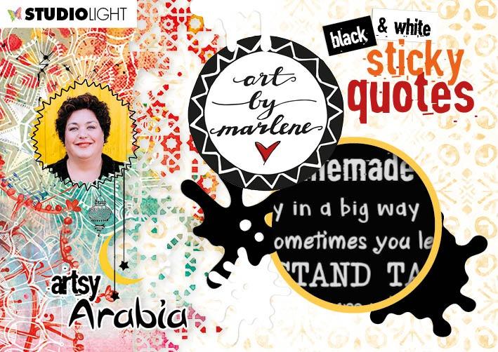 Art By Marlene - Sticker Book - NR. 03 (Artsy Arabia)