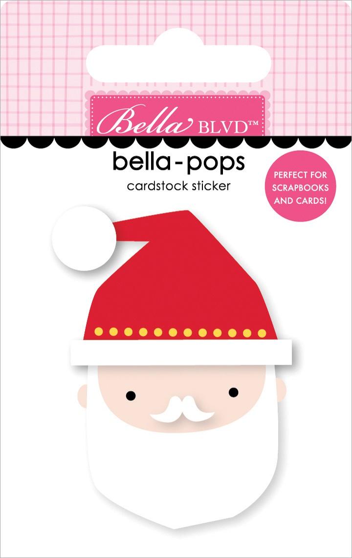 Fa La La Bella-Pops 3D Stickers-St
