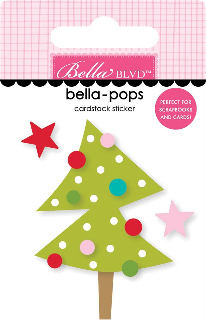 Fa La La Bella-Pops 3D Stickers-Twinkle Lights