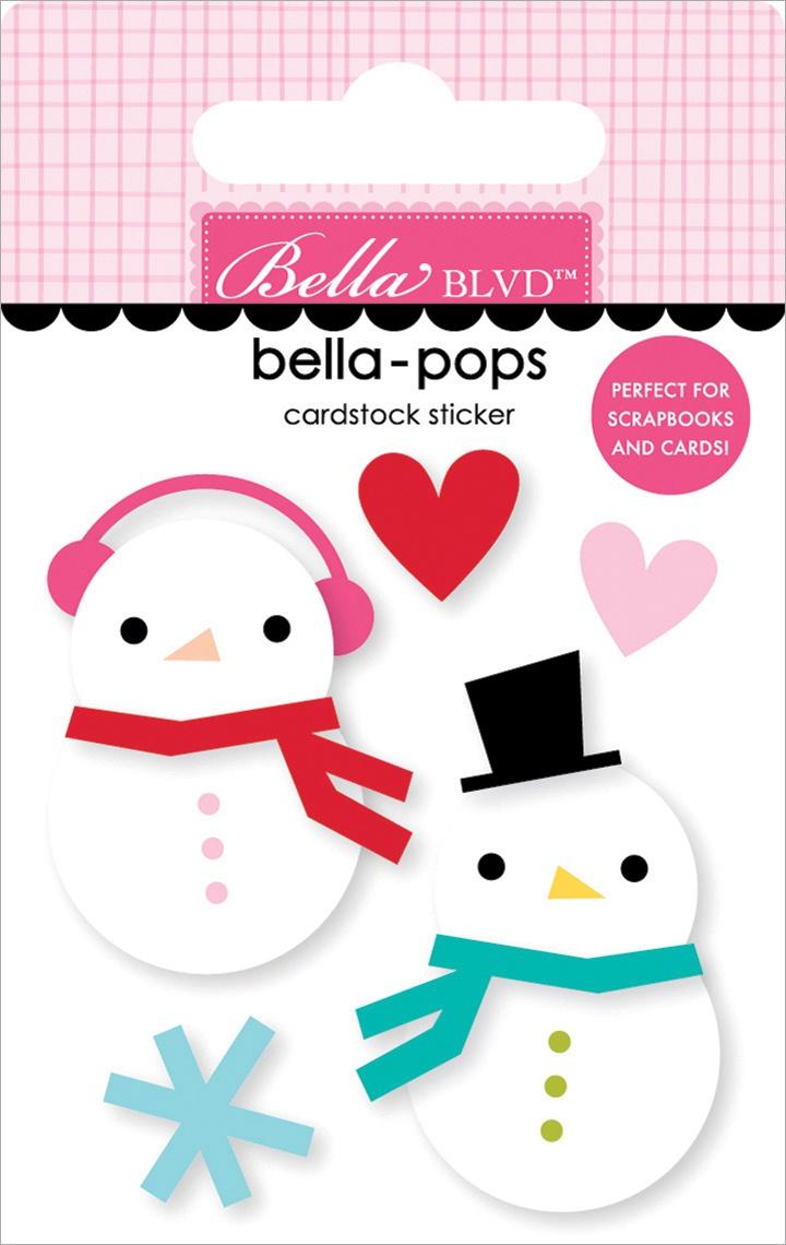 Fa La La Bella-Pops 3D Stickers-Snow In Love
