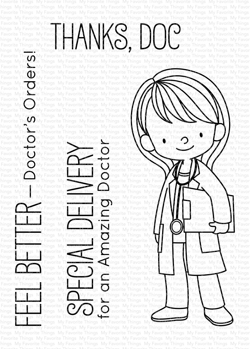 Doctor's Orders Stamp