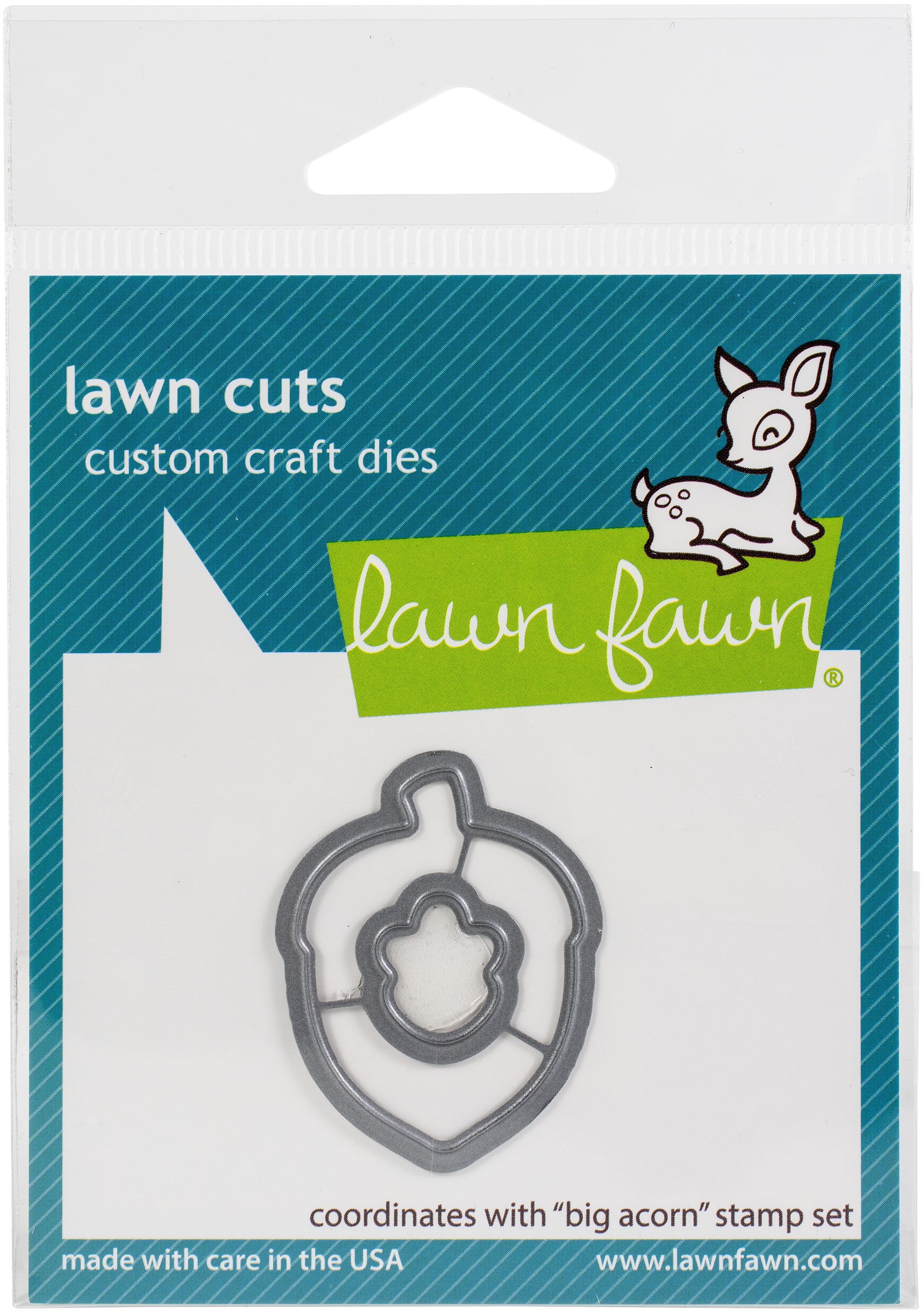 Lawn Cuts Custom Craft Die -Big Acorn
