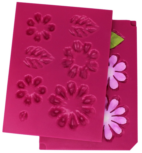 3D Small Zinnia Flower shaping Mold