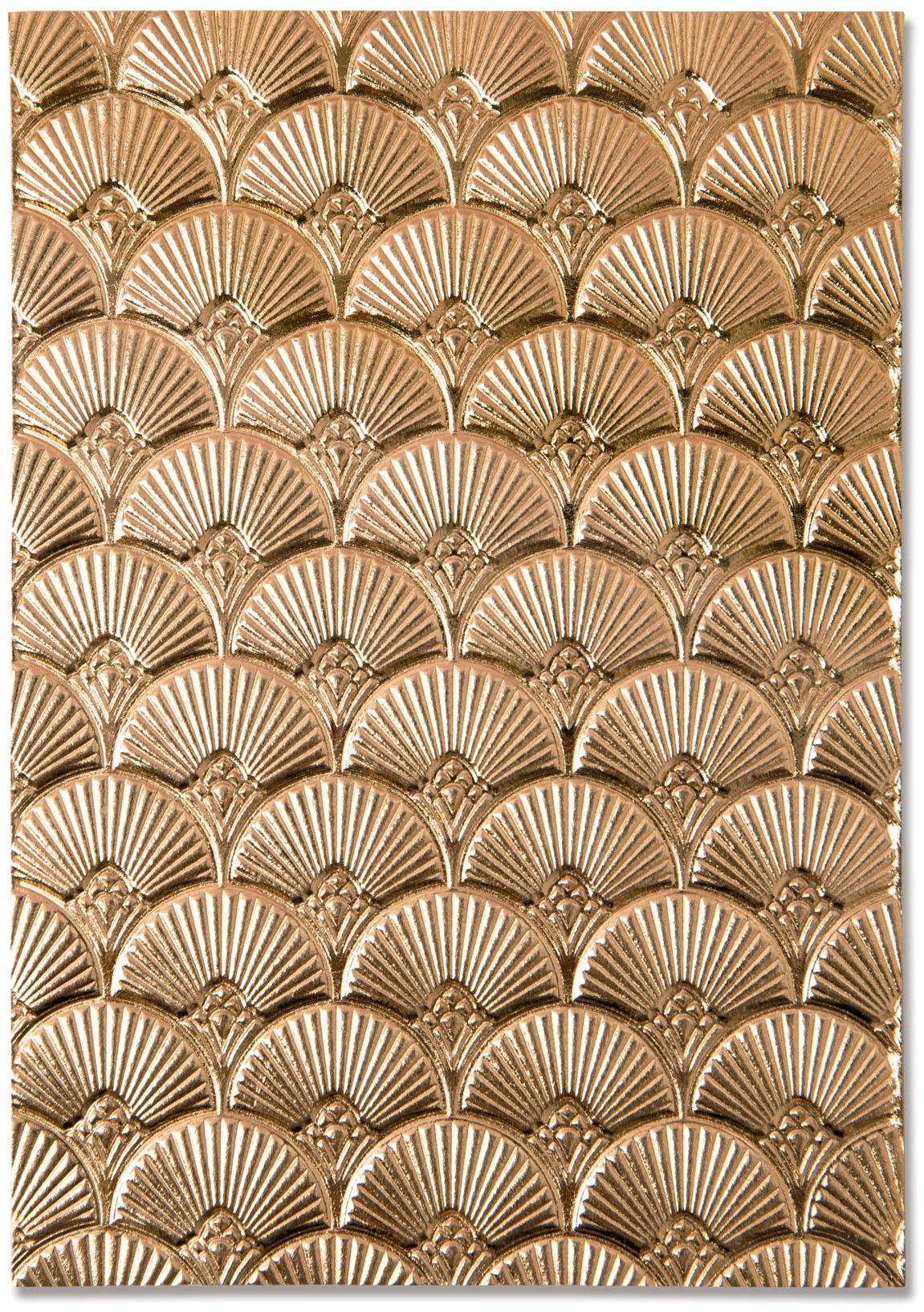 Sizzix - 3D Texture Fades Embossing Folder - Art Deco