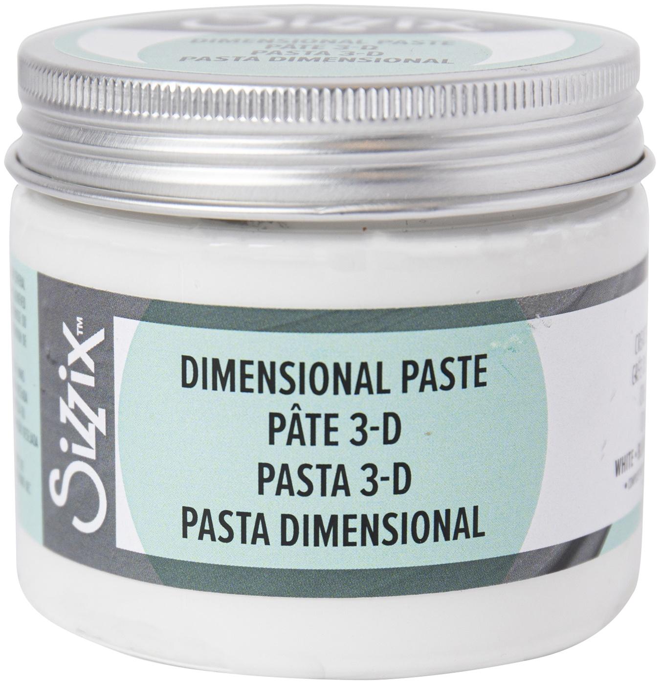 Sizzix Effectz Dimentional Paste -White