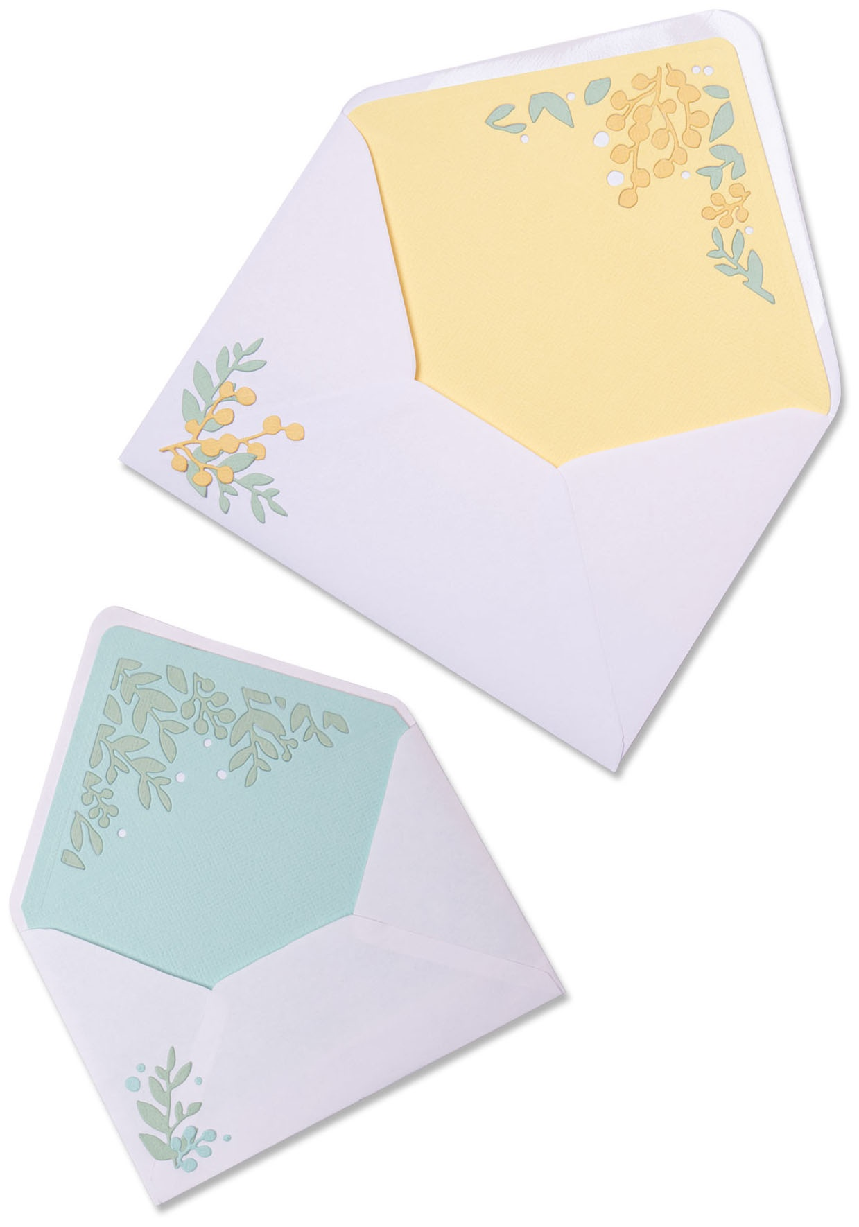 Sizzix Thinlits Dies By Sharon Drury 7/Pkg-Foliage Envelope Liners