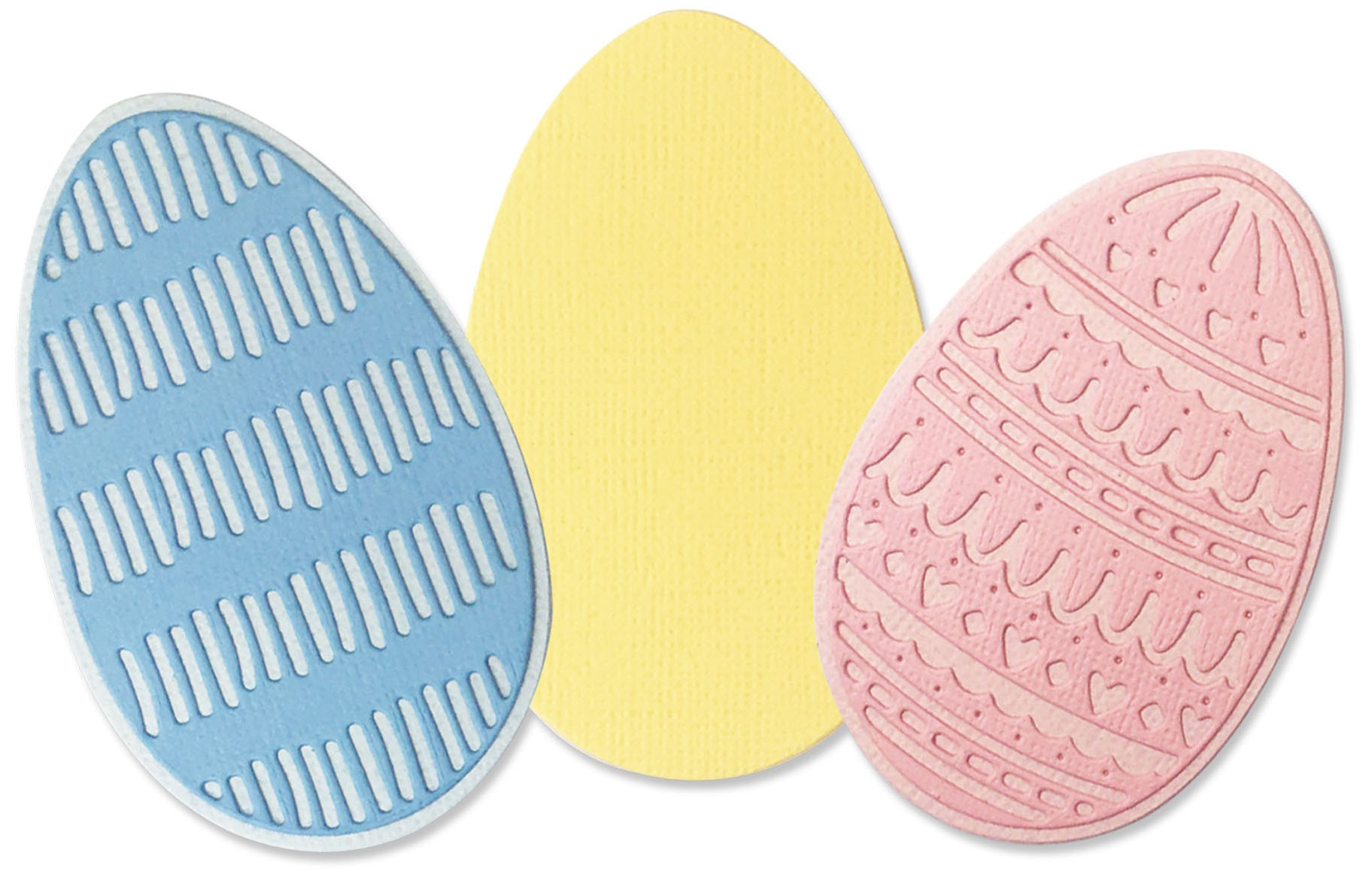 Sizzix Thinlits Dies - Decorative Eggs