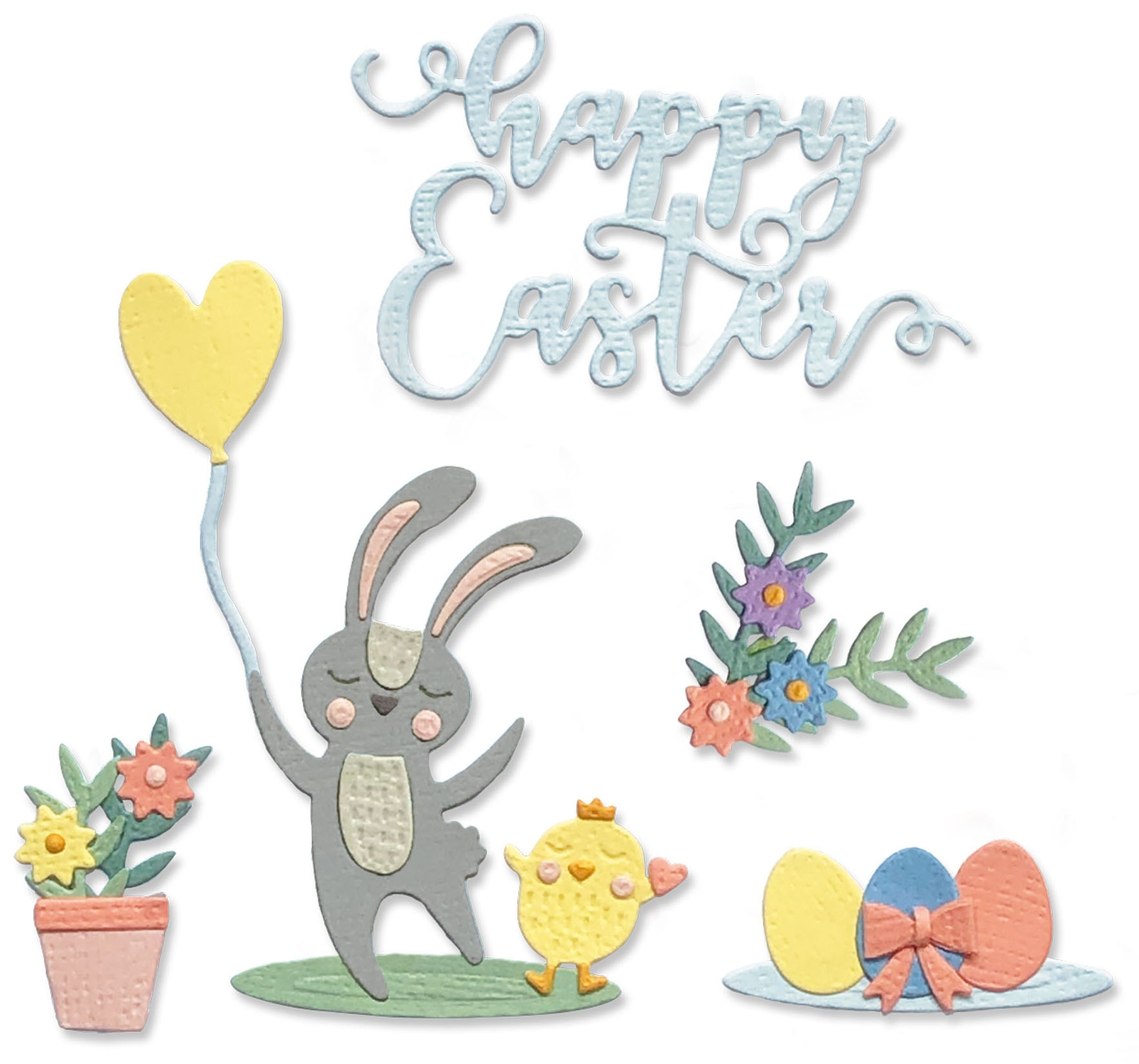 Sizzix Thinlits Dies- Easter Icons