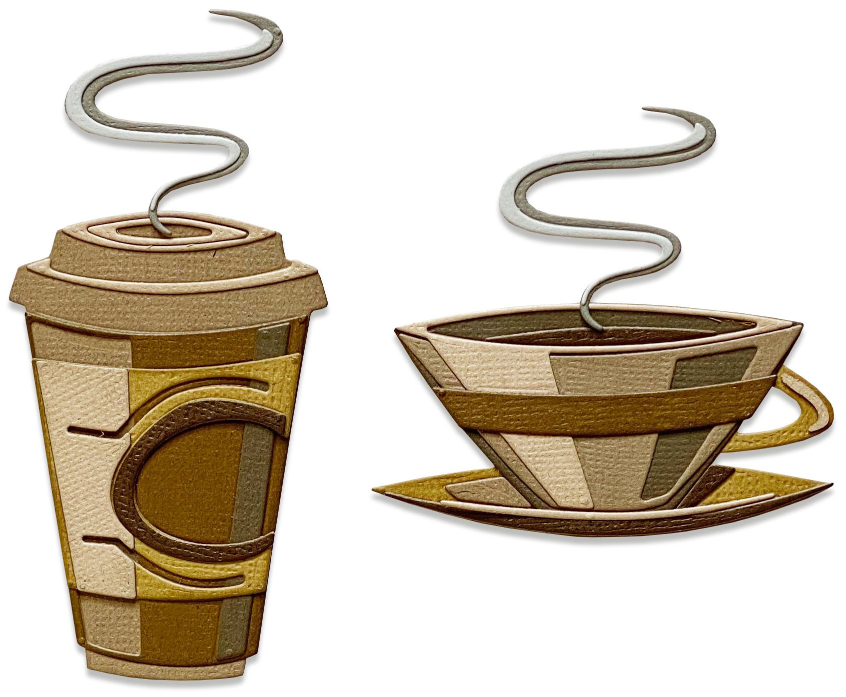 Tim Holtz Sizzix Thinlits Dies - Cafe Colorize