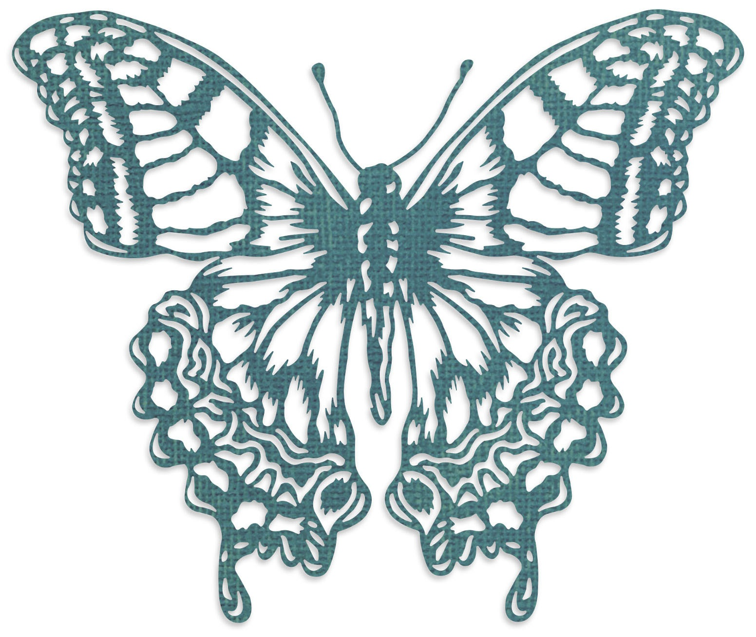 Sizzix Thinlits Die By Tim Holtz-Perspective Butterfly