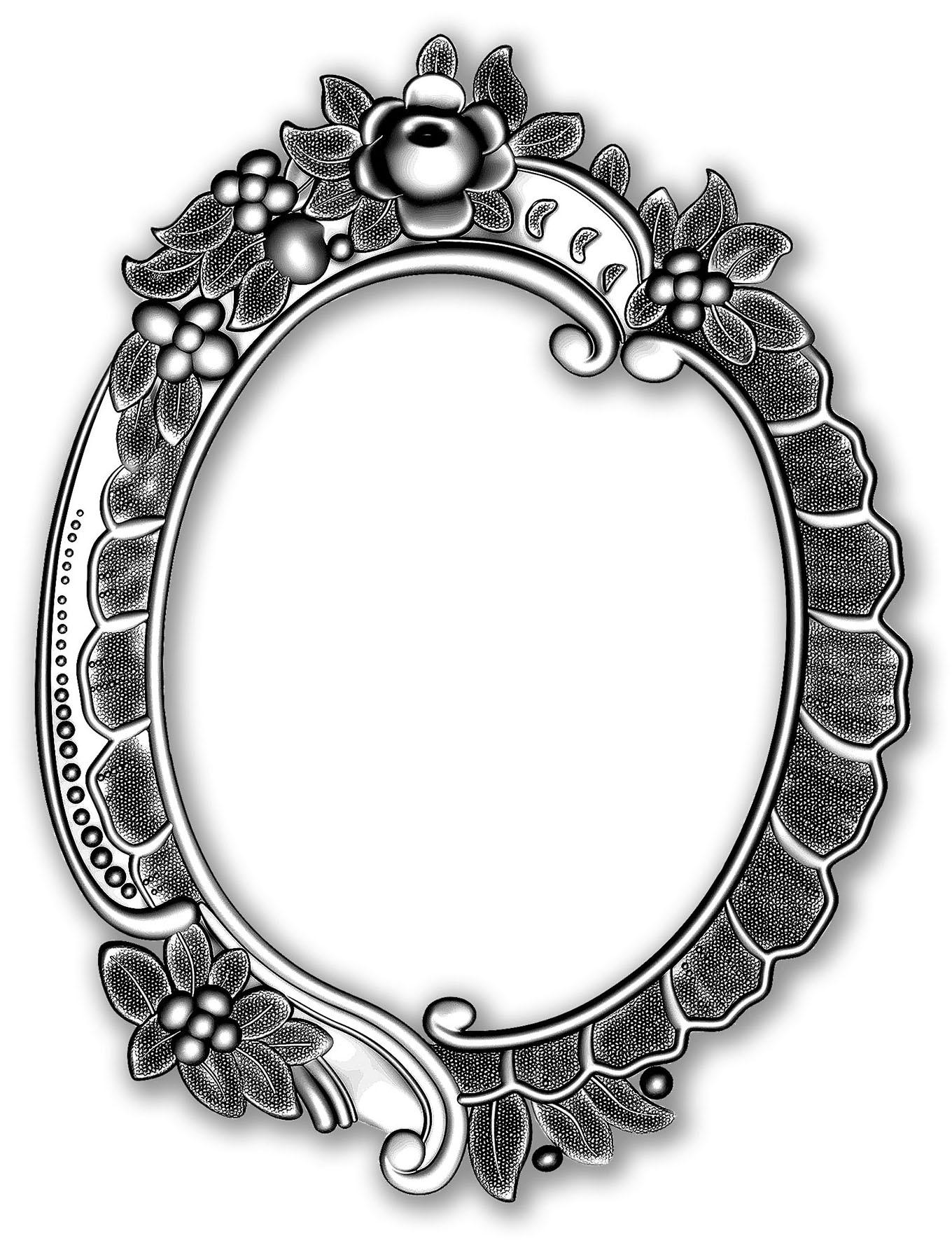 Sizzix 3D Impresslits Embossing Folder By Tim Holtz-Floral Frame