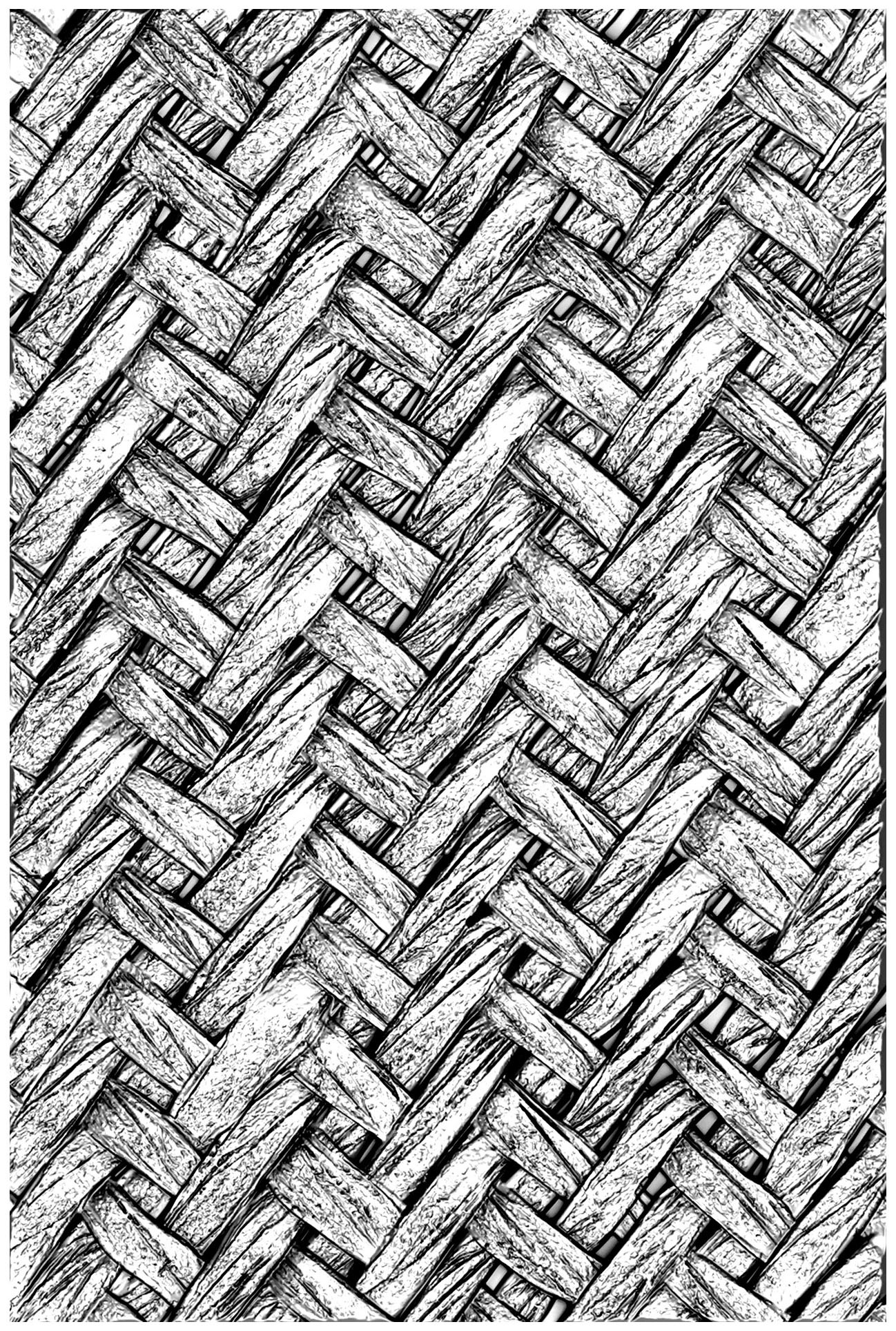 Sizzix 3D Texture Fades Embossing Folder - Intertwined By Tim Holtz