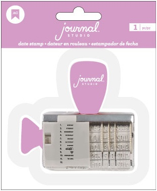 American Crafts Journal Studio Date Stamp-