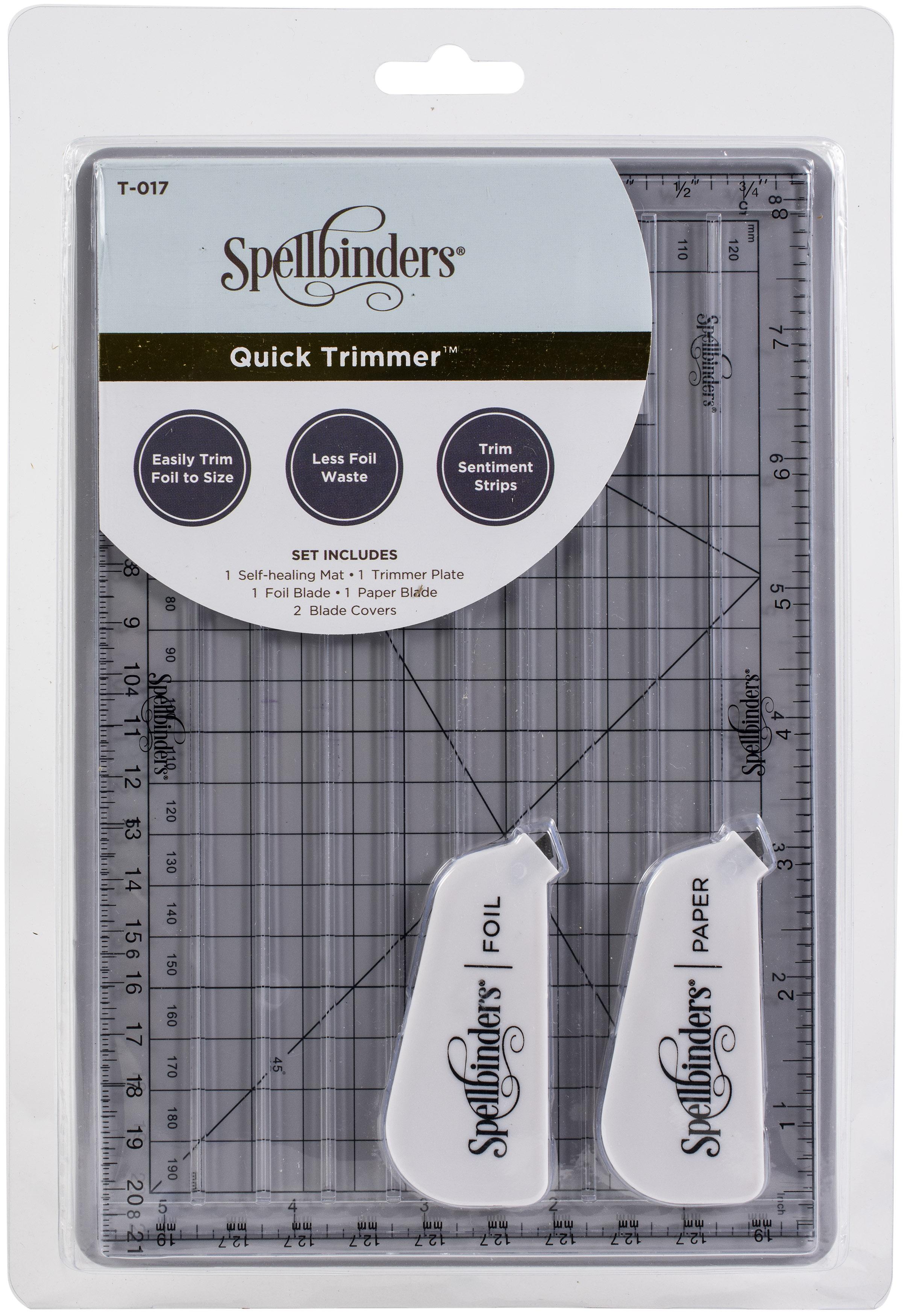 Spellbinders Quick Trimmer Tool-