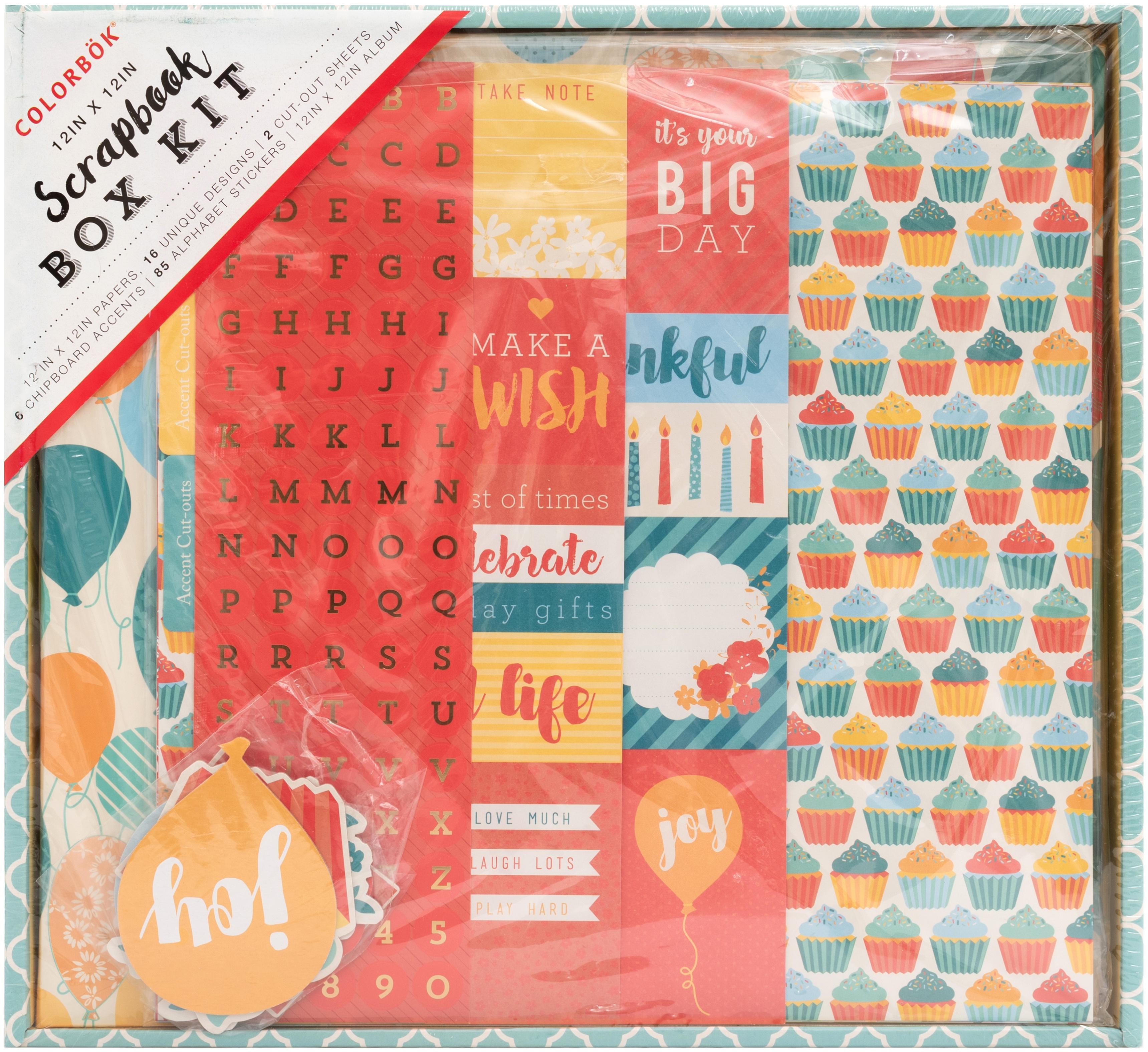 Colorbok Scrapbook Box Kit-Celebration
