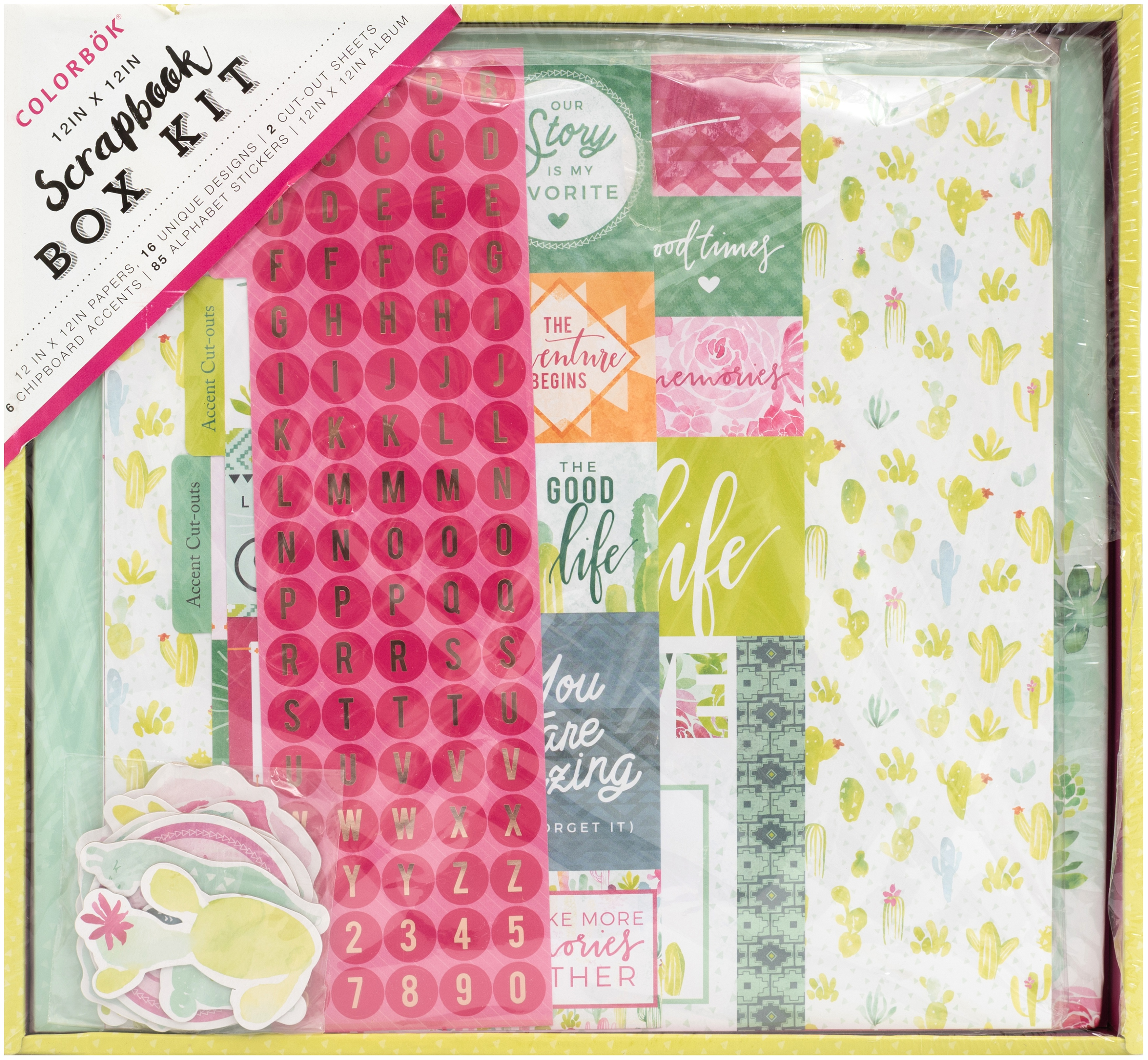 Colorbok Scrapbook Box Kit-Southwest