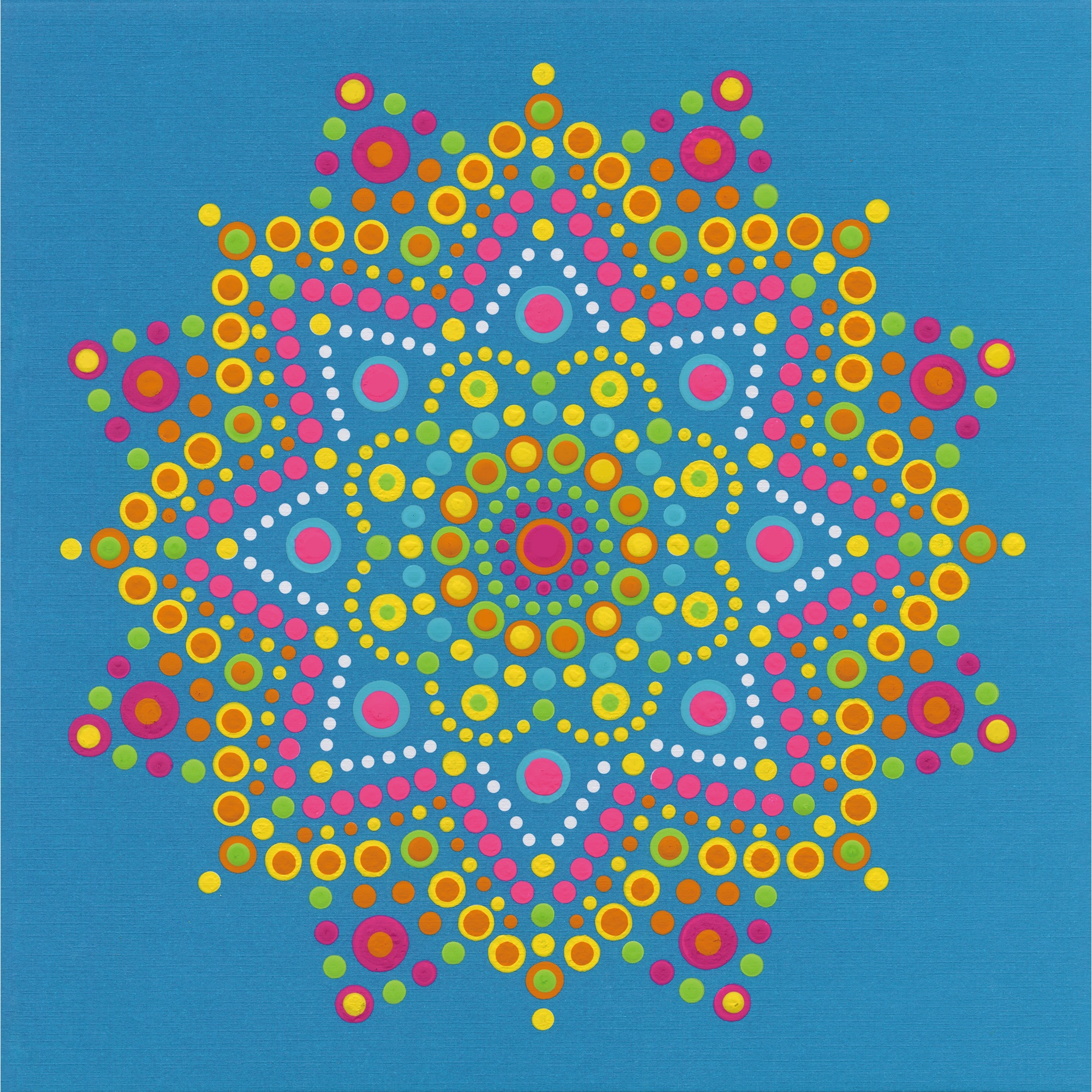 Dimensions Paint By Number Kit 10X10-Mandala Dots
