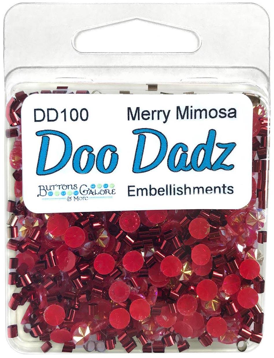 Buttons Galore Doodadz Embellishments-Merry Mimosa