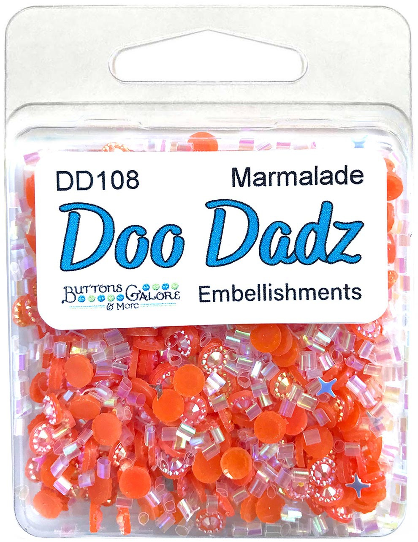 Buttons Galore Doodadz Embellishments-Marmalade
