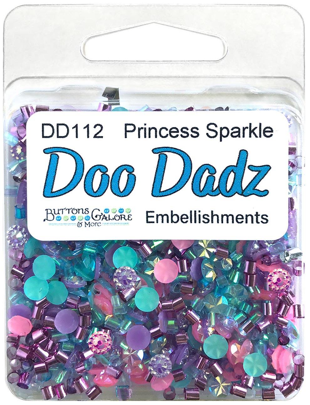 Buttons Galore Doodadz Embellishments-Princess Sparkle