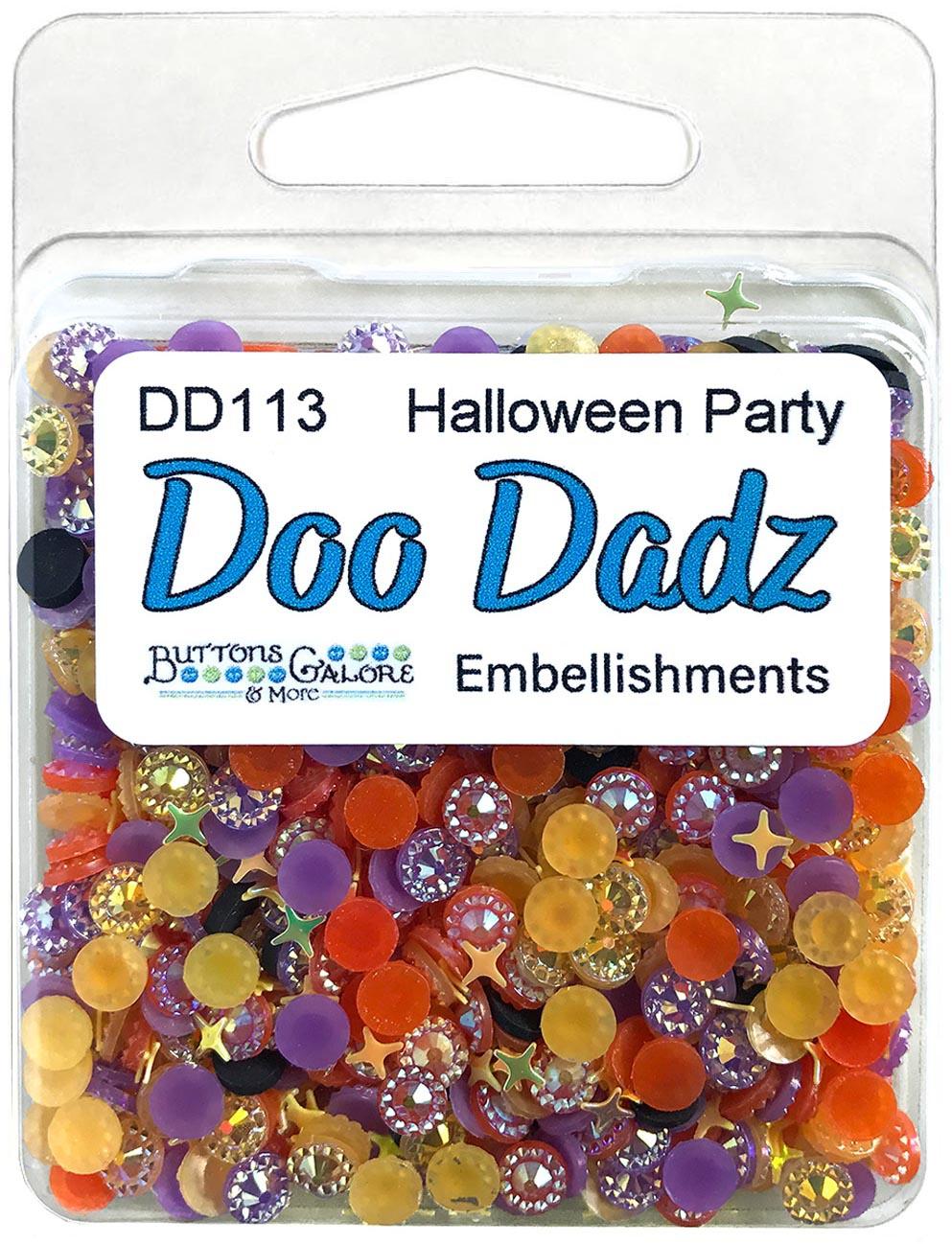 Buttons Galore Doodadz Embellishments-Halloween Party