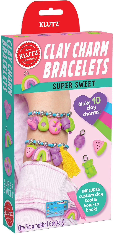 Mini Kits: Clay Charm Bracelets Super Sweet Book Kit-
