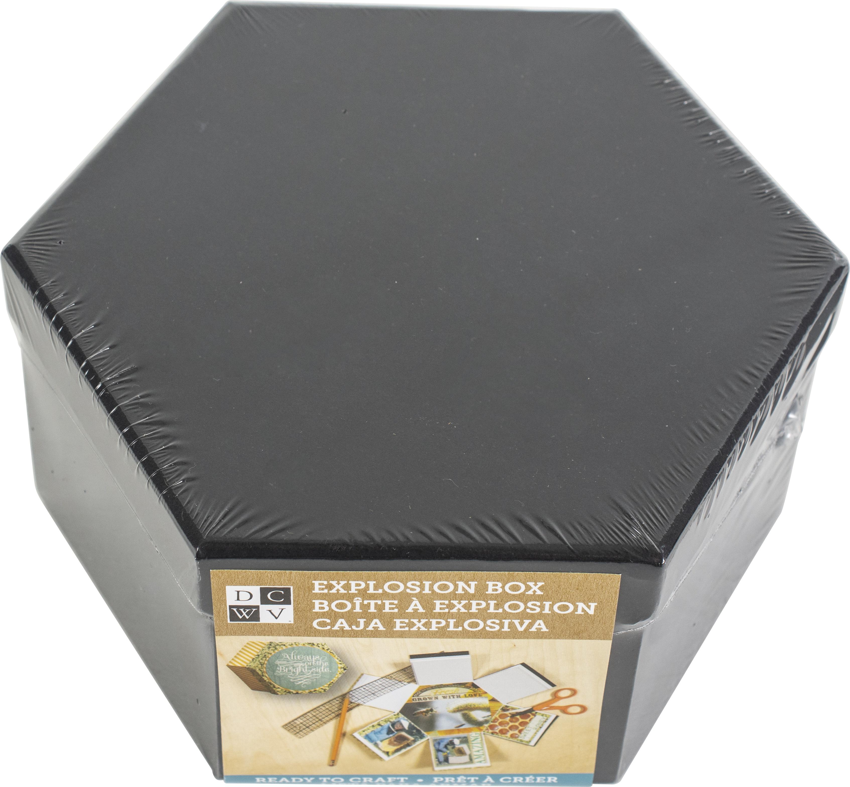 DCWV Hexagon Explosion Box-Black