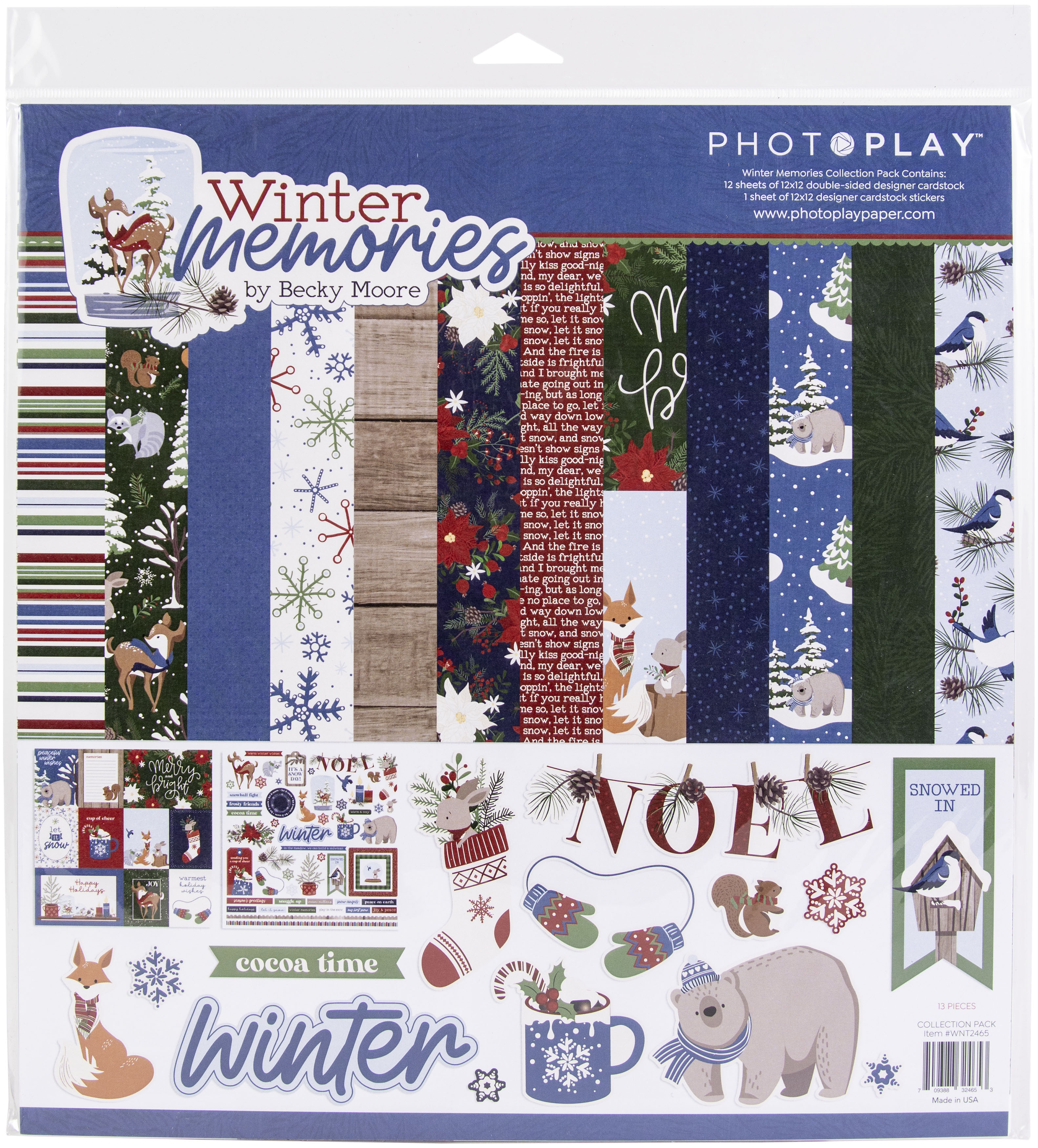 PhotoPlay Collection Pack 12X12-Winter Memories