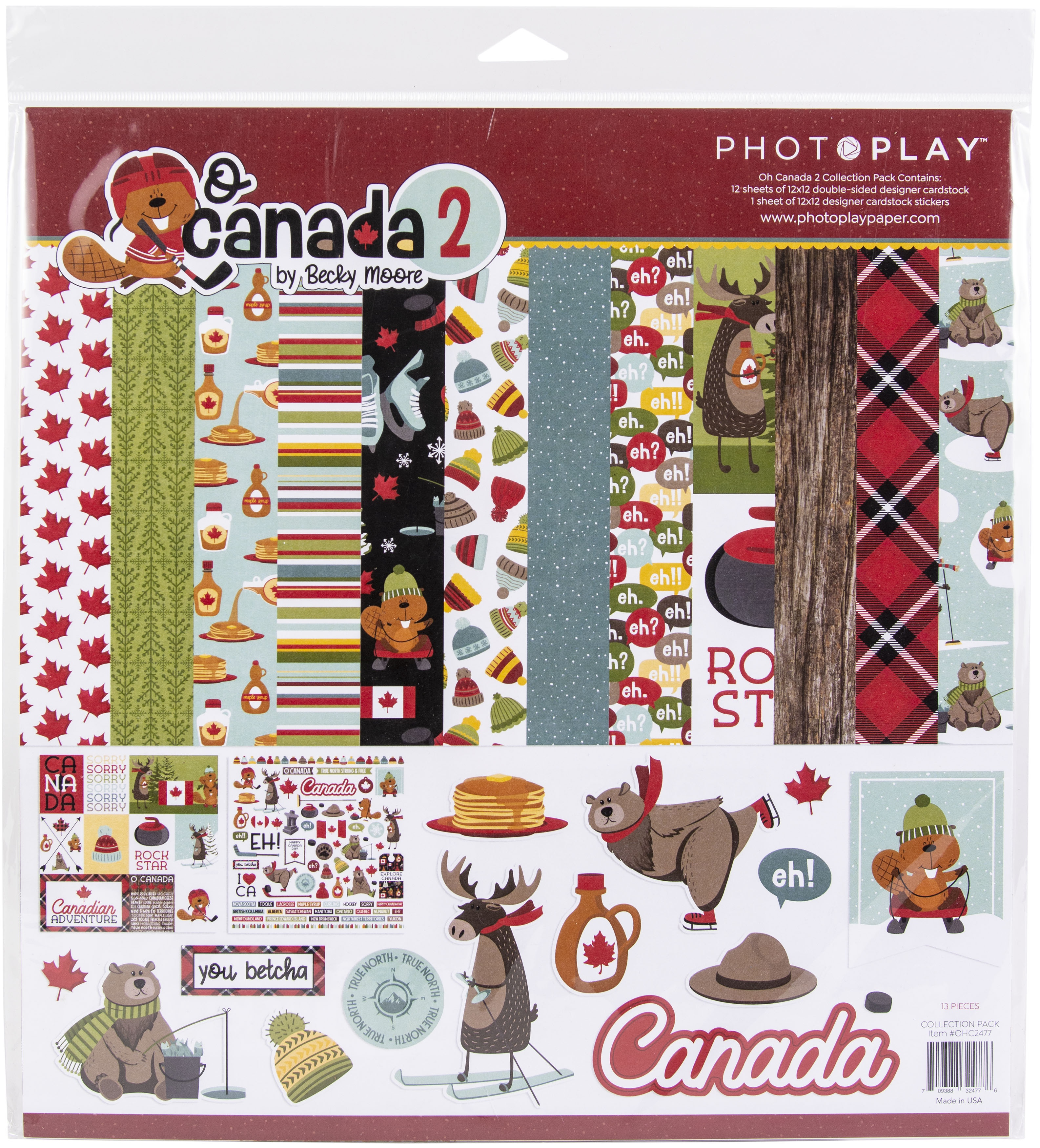 PhotoPlay Collection Pack 12X12-O Canada 2