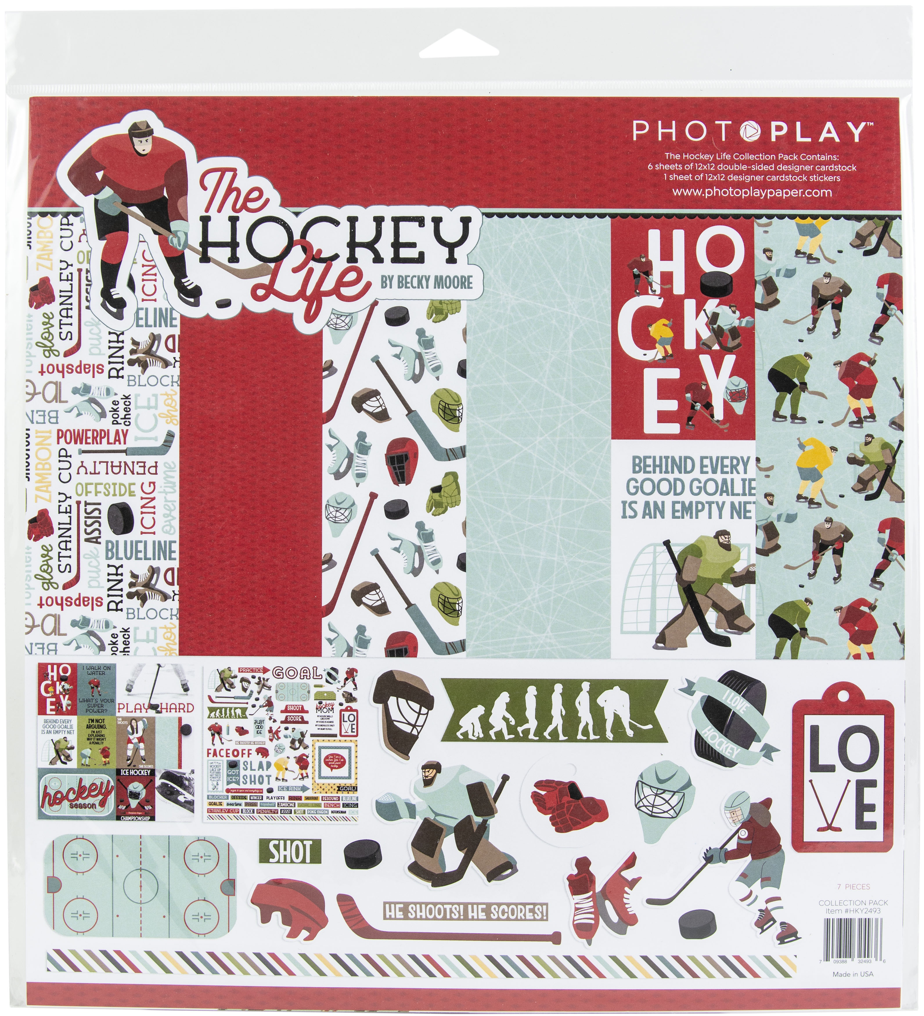 PhotoPlay Collection Pack 12X12-The Hockey Life