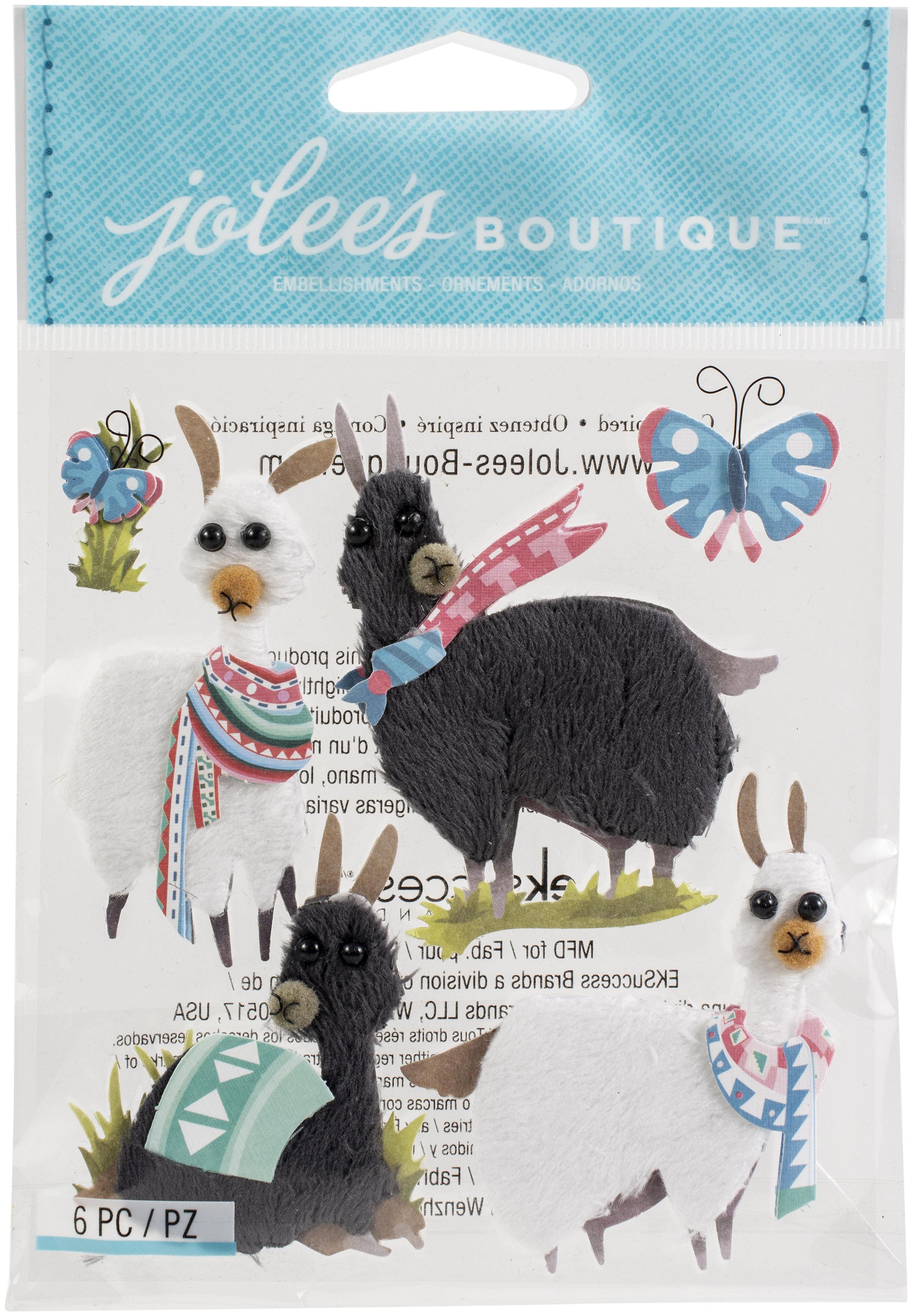 Jolee's Boutique Themed Embellishment-Llamas