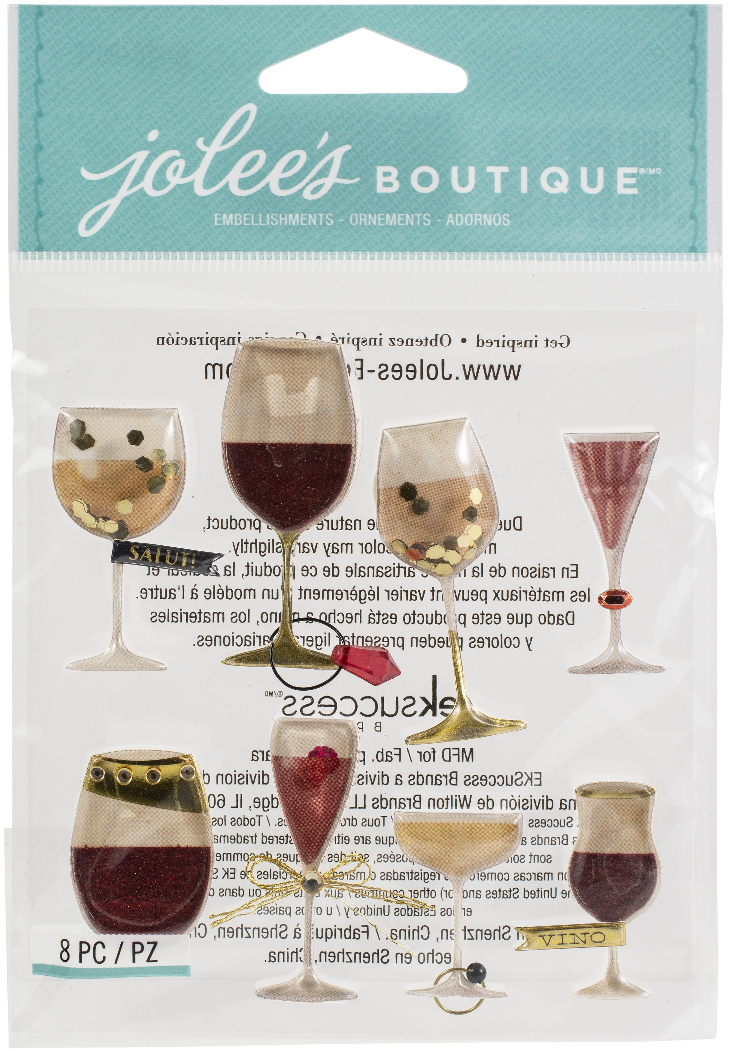 Jolee Wine Glasses